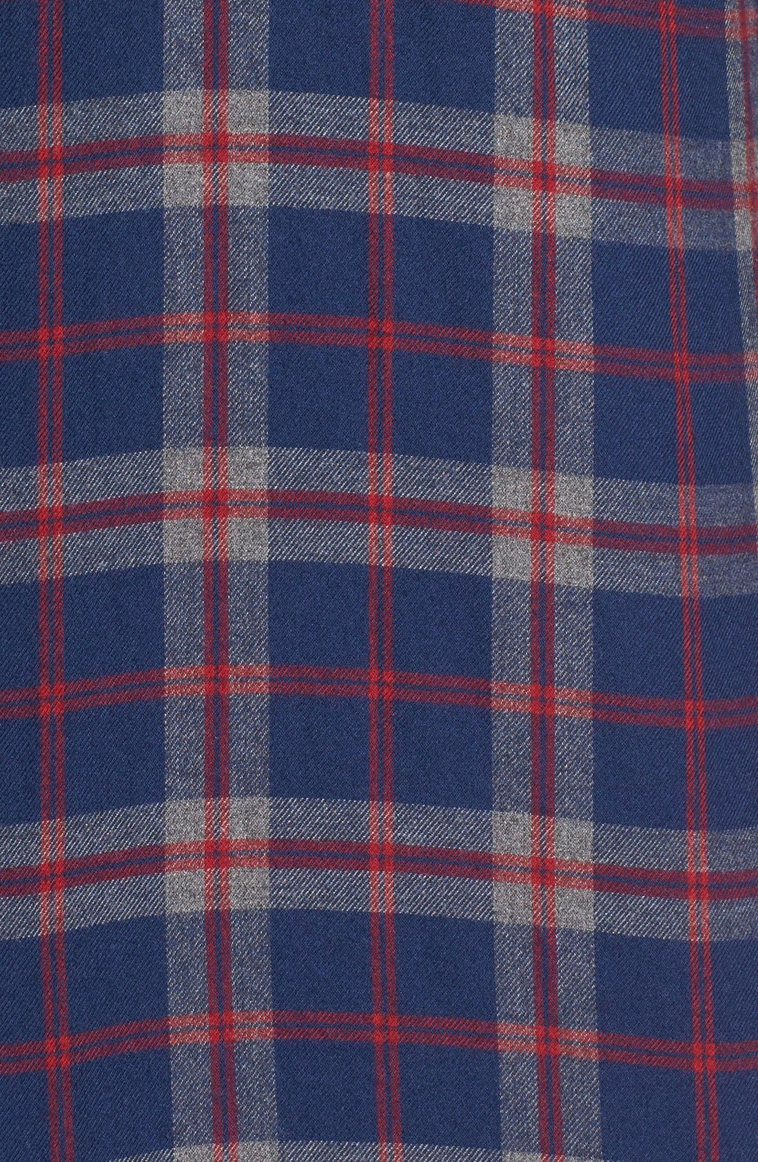 Alternate Image 5  - Barbour Seth Tailored Fit Plaid Sport Shirt