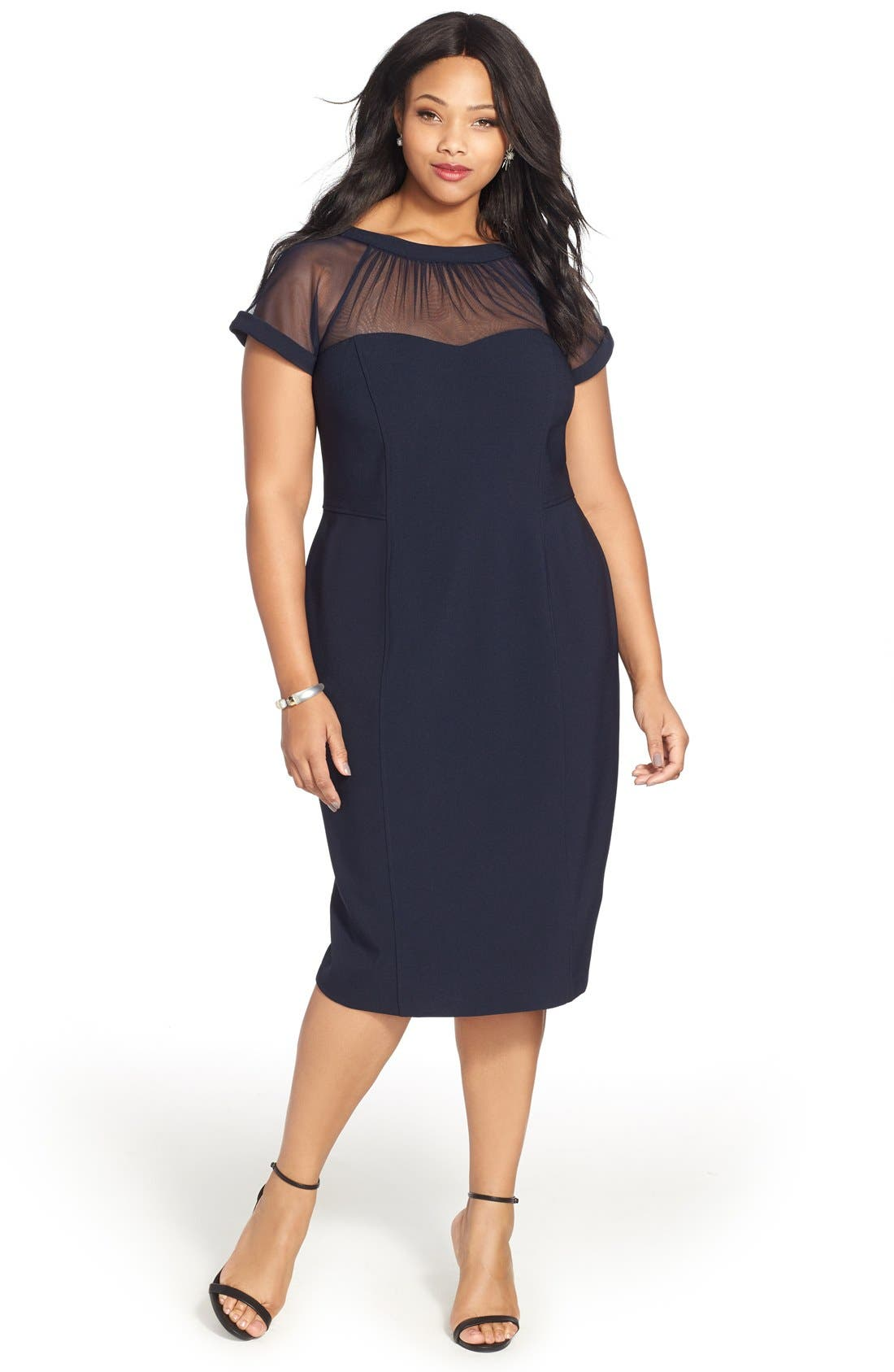 Maggy London Dress with Accessories (Plus Size)