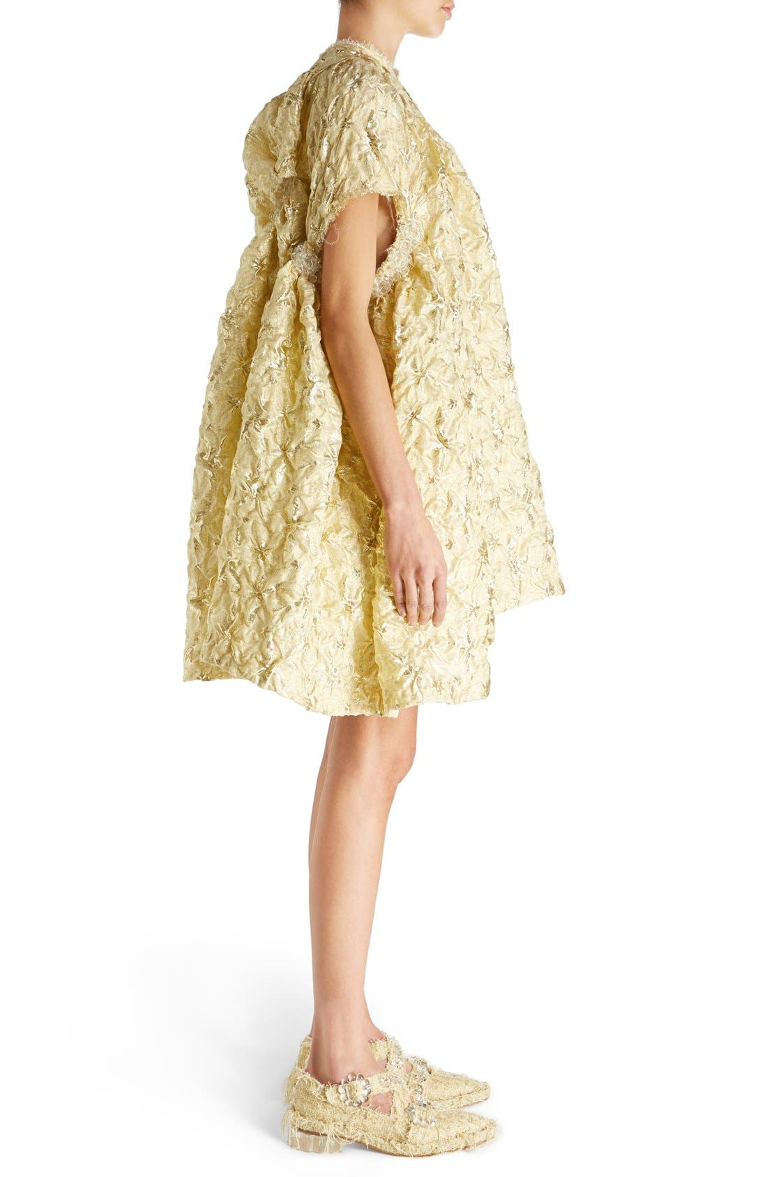 Alternate Image 5  - Simone Rocha 'Lava' Embellished Asymmetrical Trapeze Dress