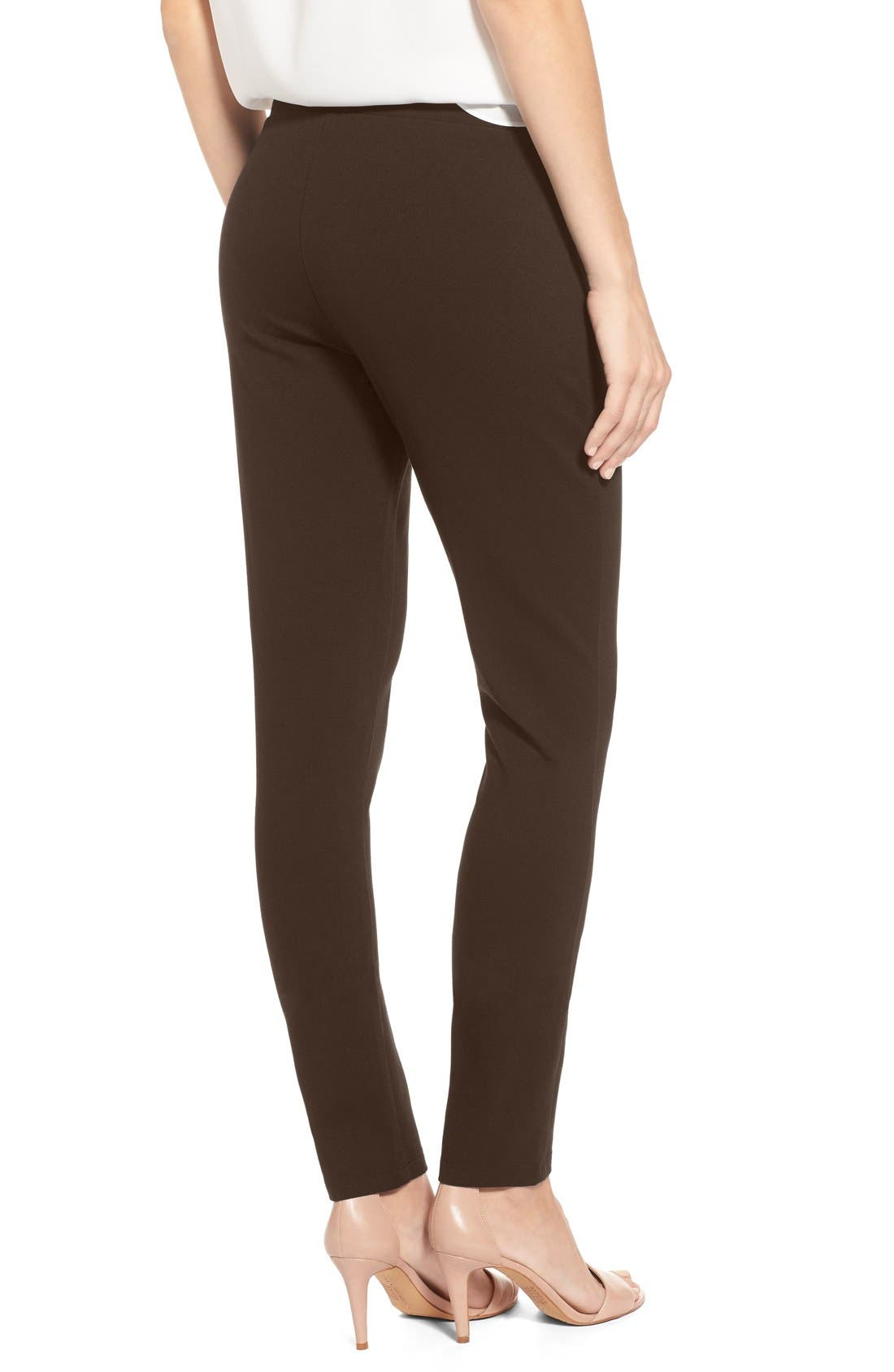 Alternate Image 2  - NYDJ Stretch 'Jodie' Ponte Leggings (Regular & Petite)