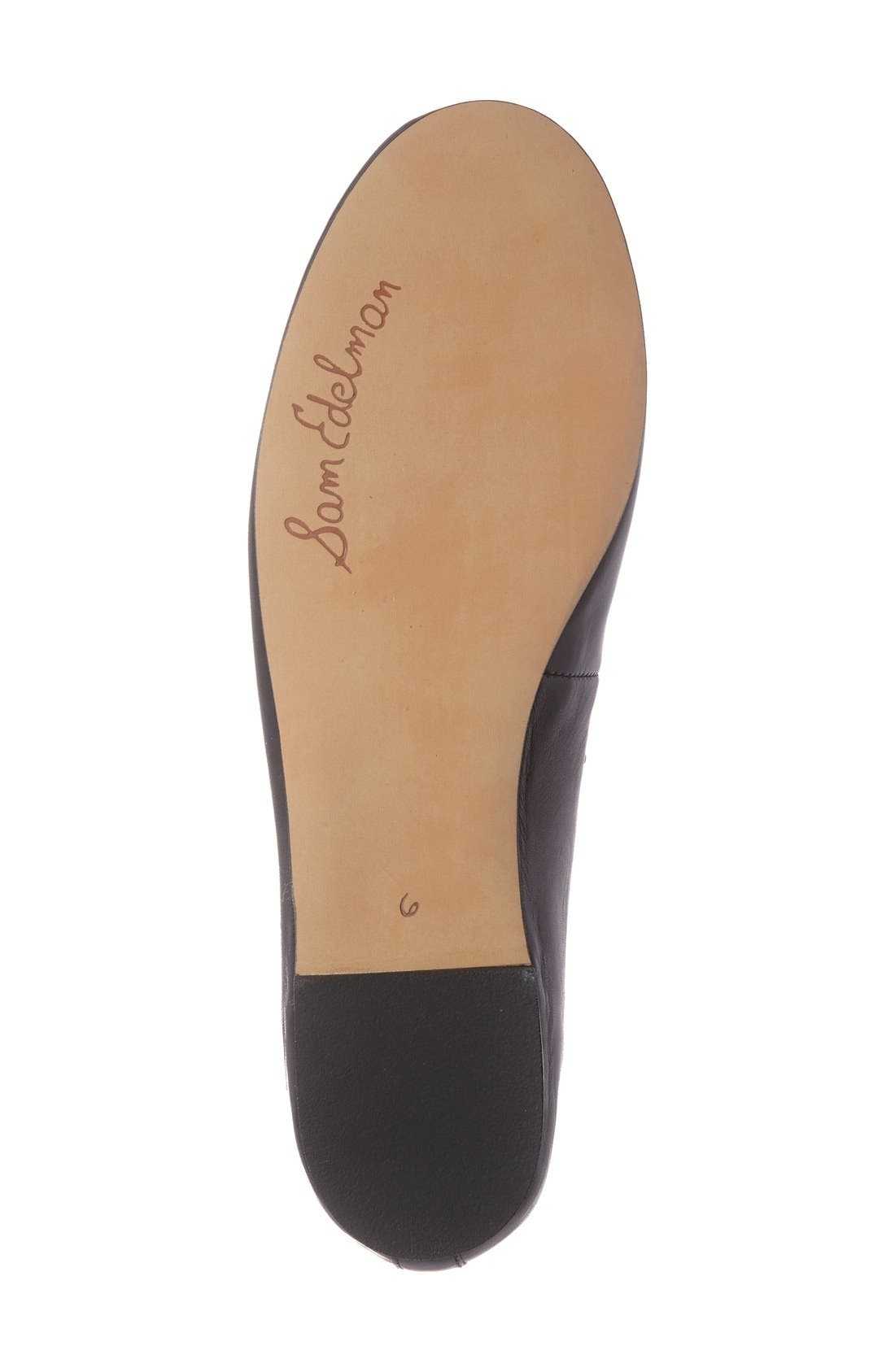 Alternate Image 4  - Sam Edelman 'Francis' Flat (Women)