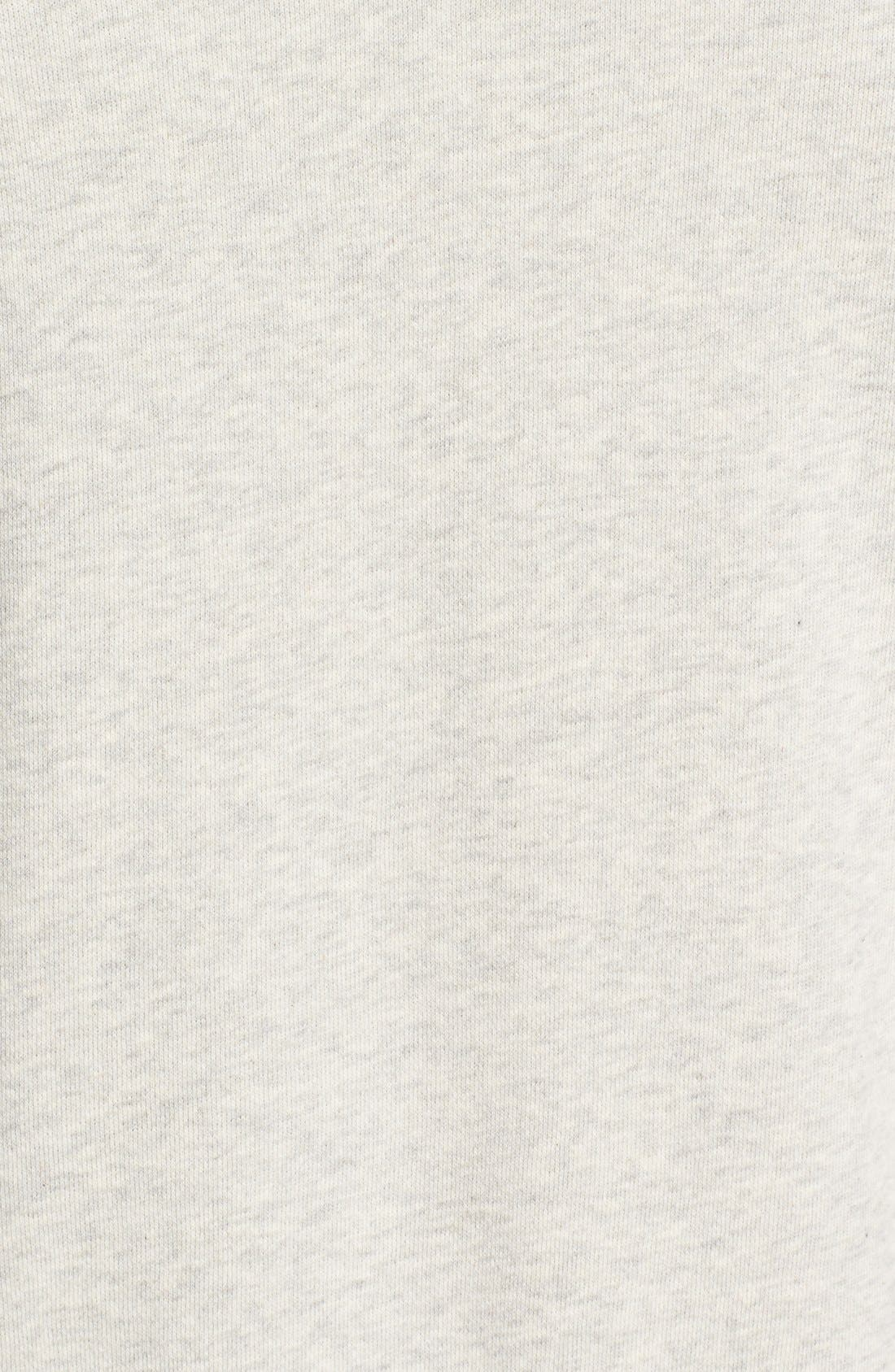 Bay Meadows Sweatshirt,                             Alternate thumbnail 5, color,                             White