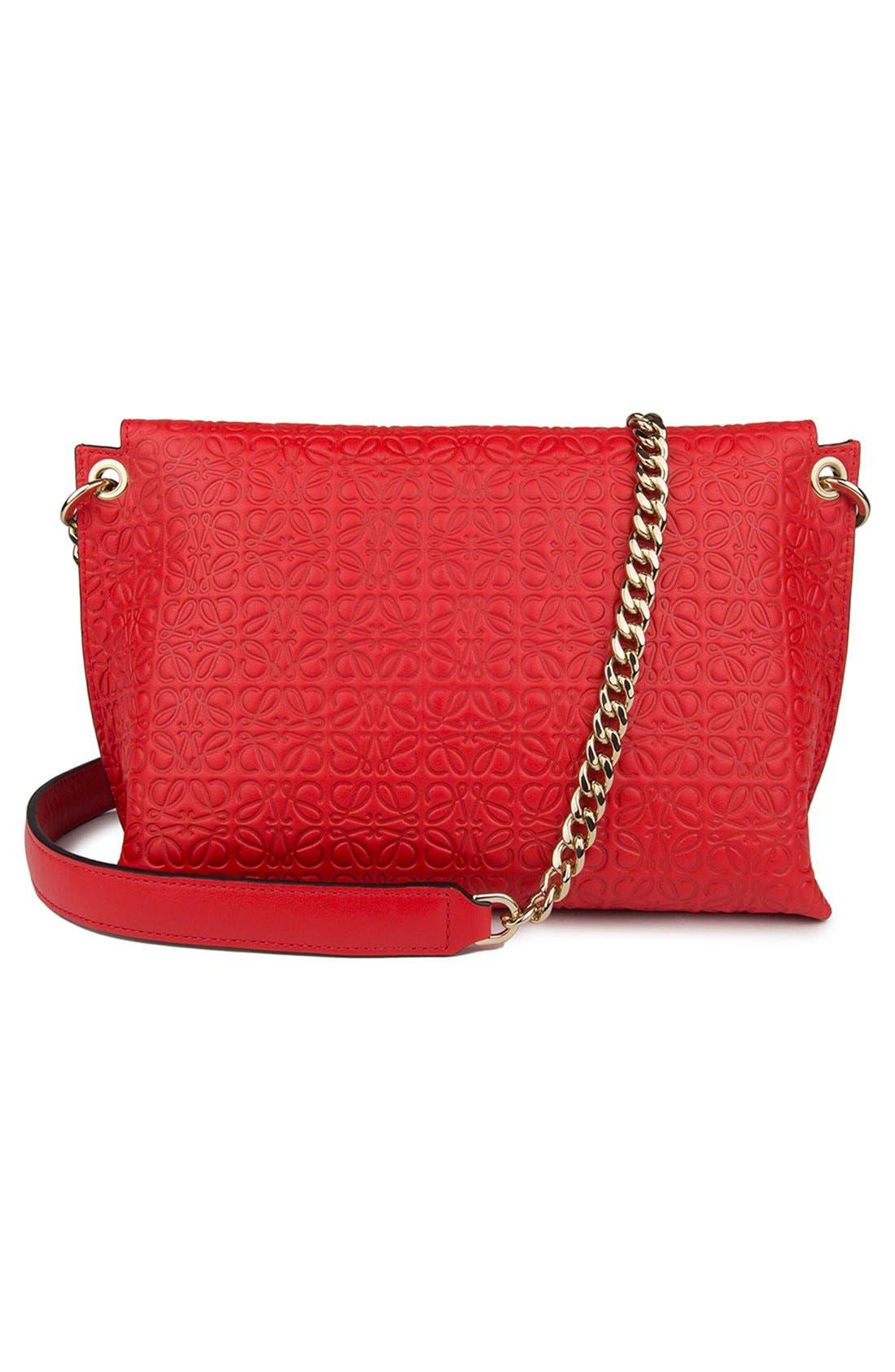 Alternate Image 2  - Loewe 'Avenue' Embossed Calfskin Leather Crossbody Bag