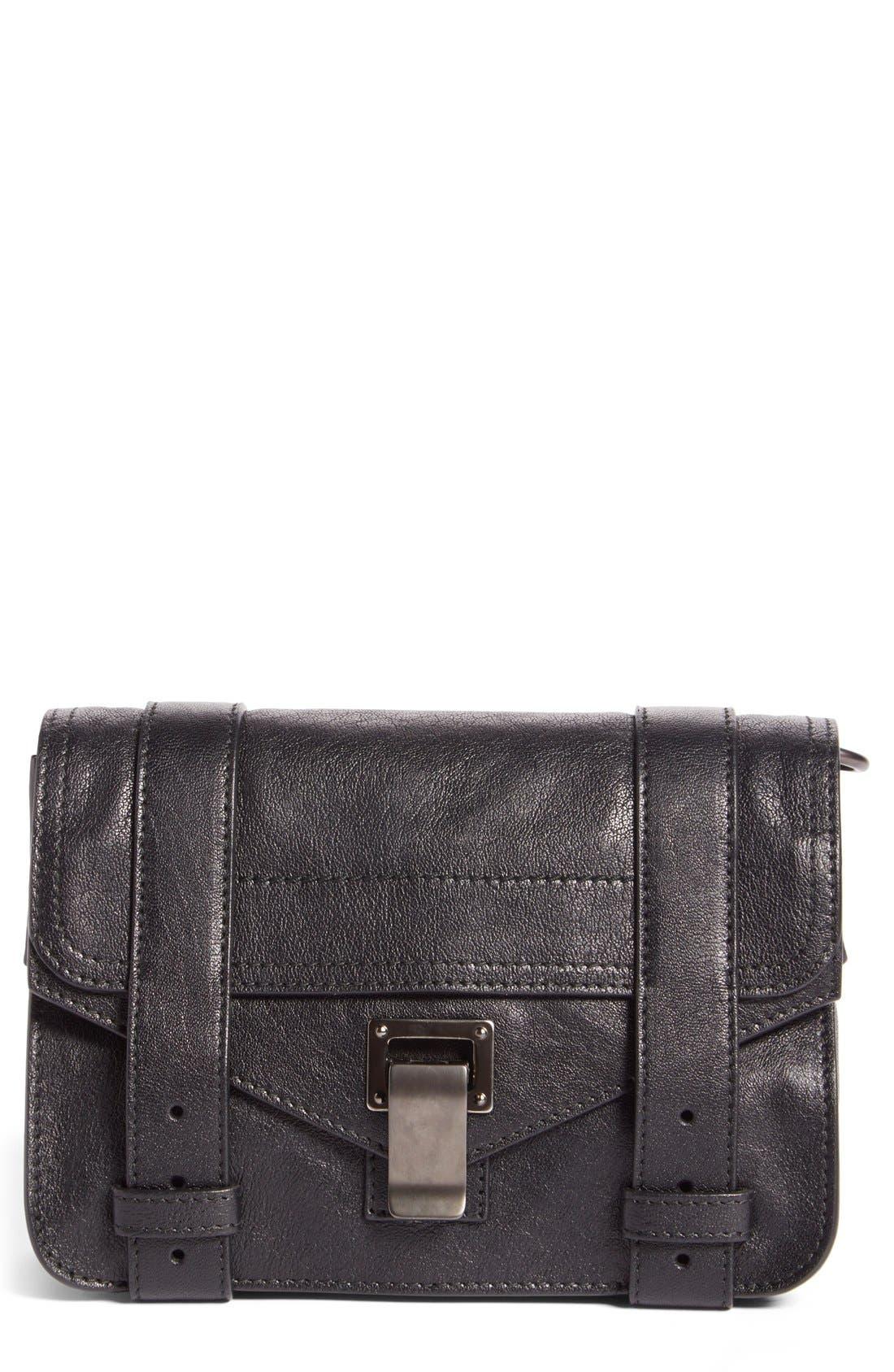 Proenza Schouler 'Mini PS1' Lambskin Leather Crossbody Bag