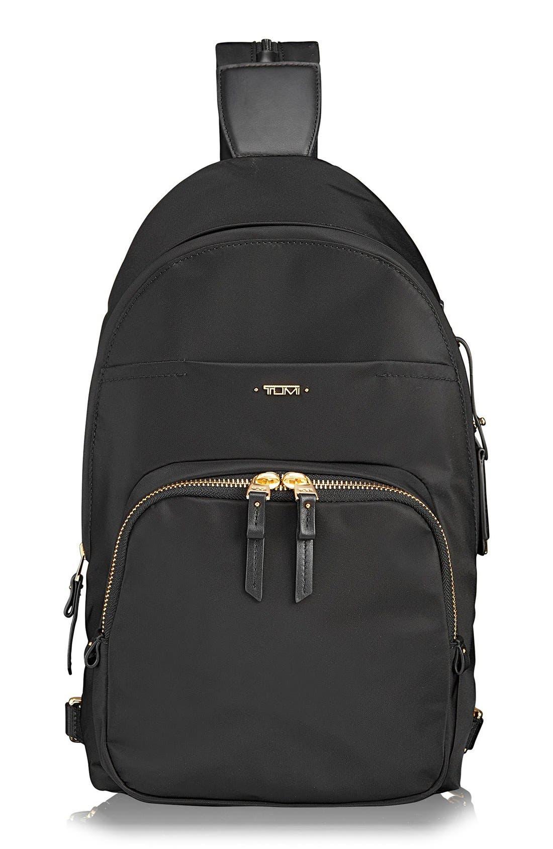 Nadia Convertible Backpack,                             Main thumbnail 1, color,                             Black