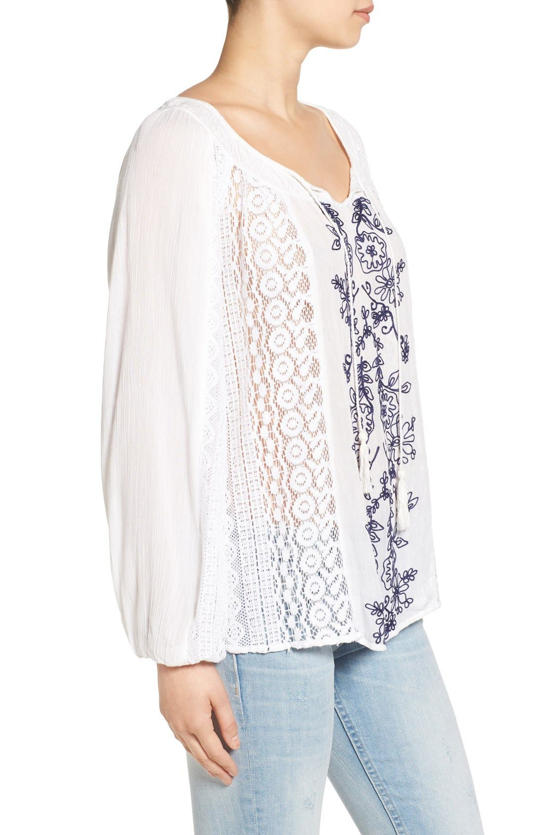 Alternate Image 3  - O'Neill 'Holland' Embroidered Woven Top