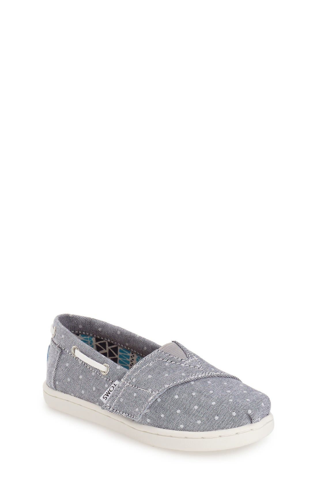 Alternate Image 1 Selected - TOMS 'Bimini - Tiny' Slip-On (Walker & Toddler)