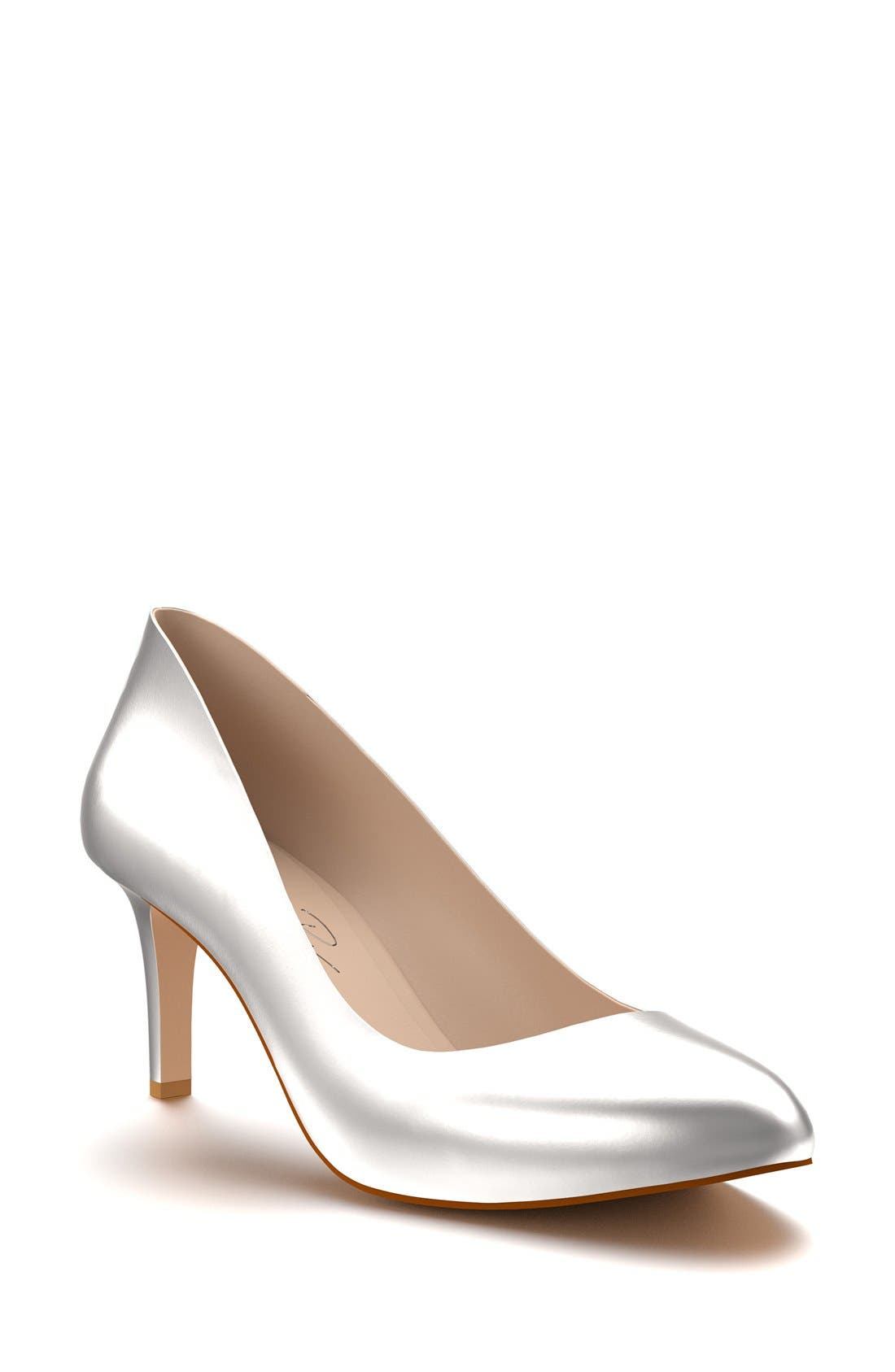 Shoes of Prey Round Toe Pump (Women)