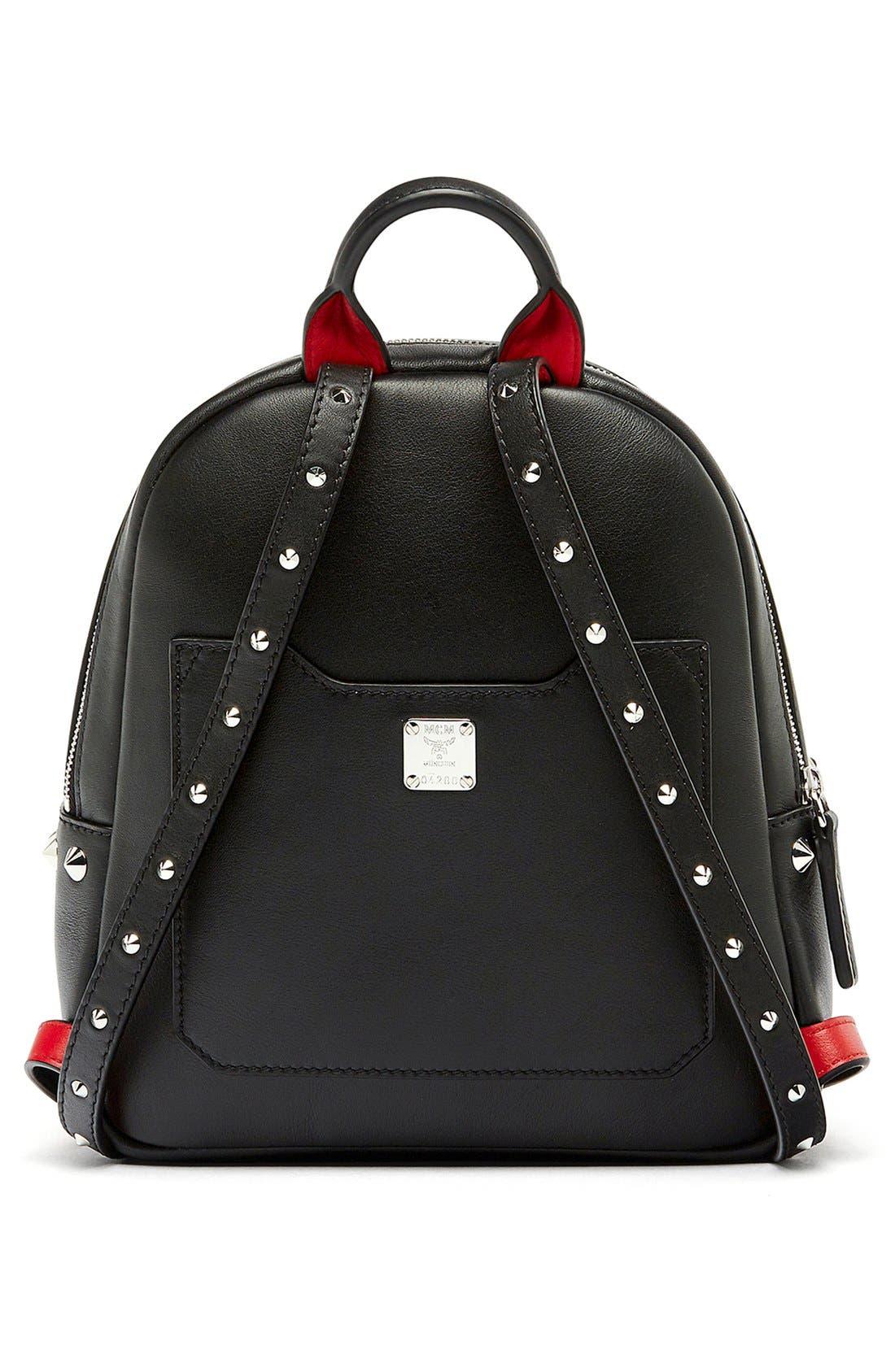 Alternate Image 3  - MCM 'Mini Duchess' Leather Backpack