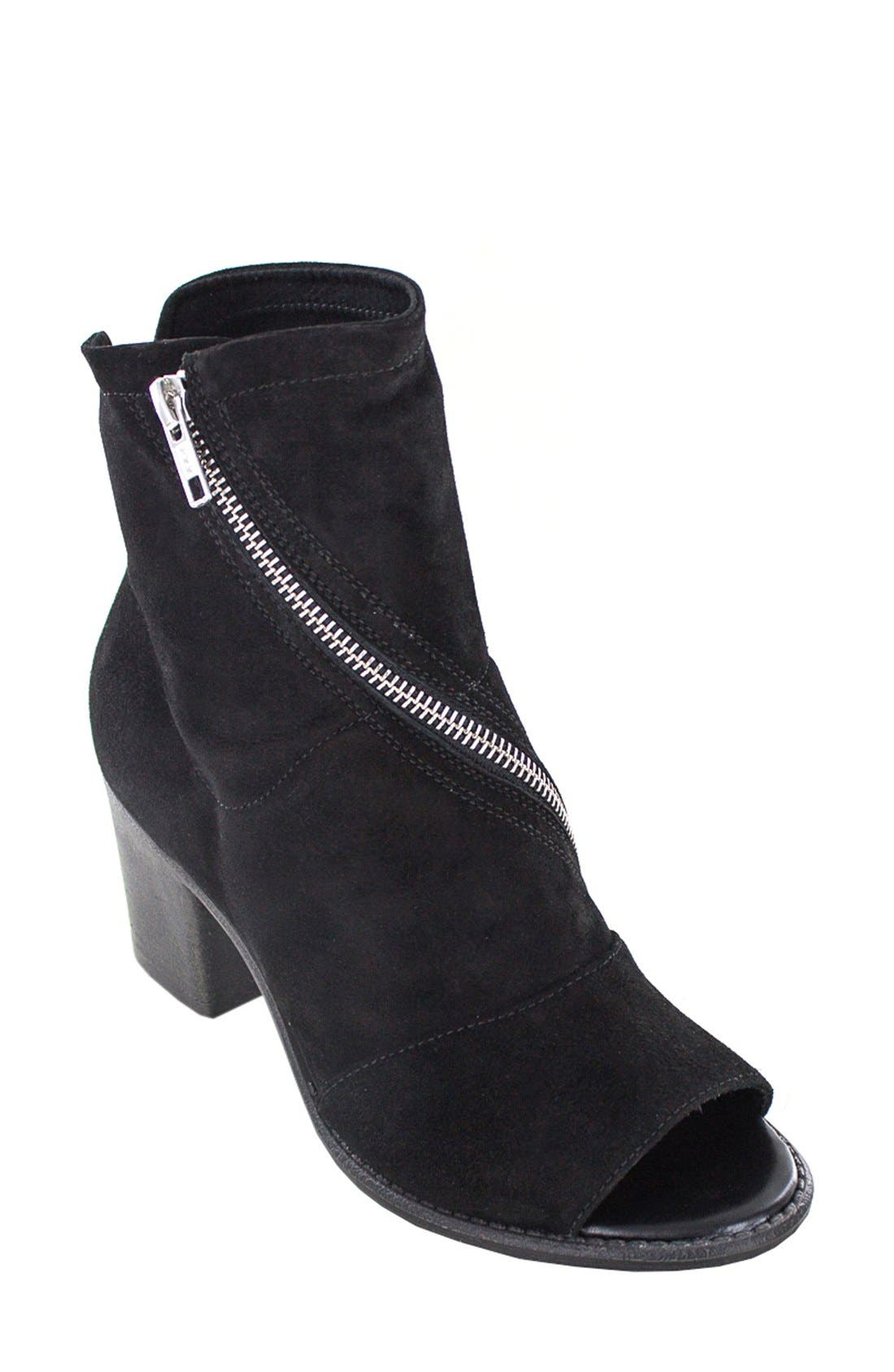 Main Image - Summit 'Fantasia' Open Toe Bootie (Women)