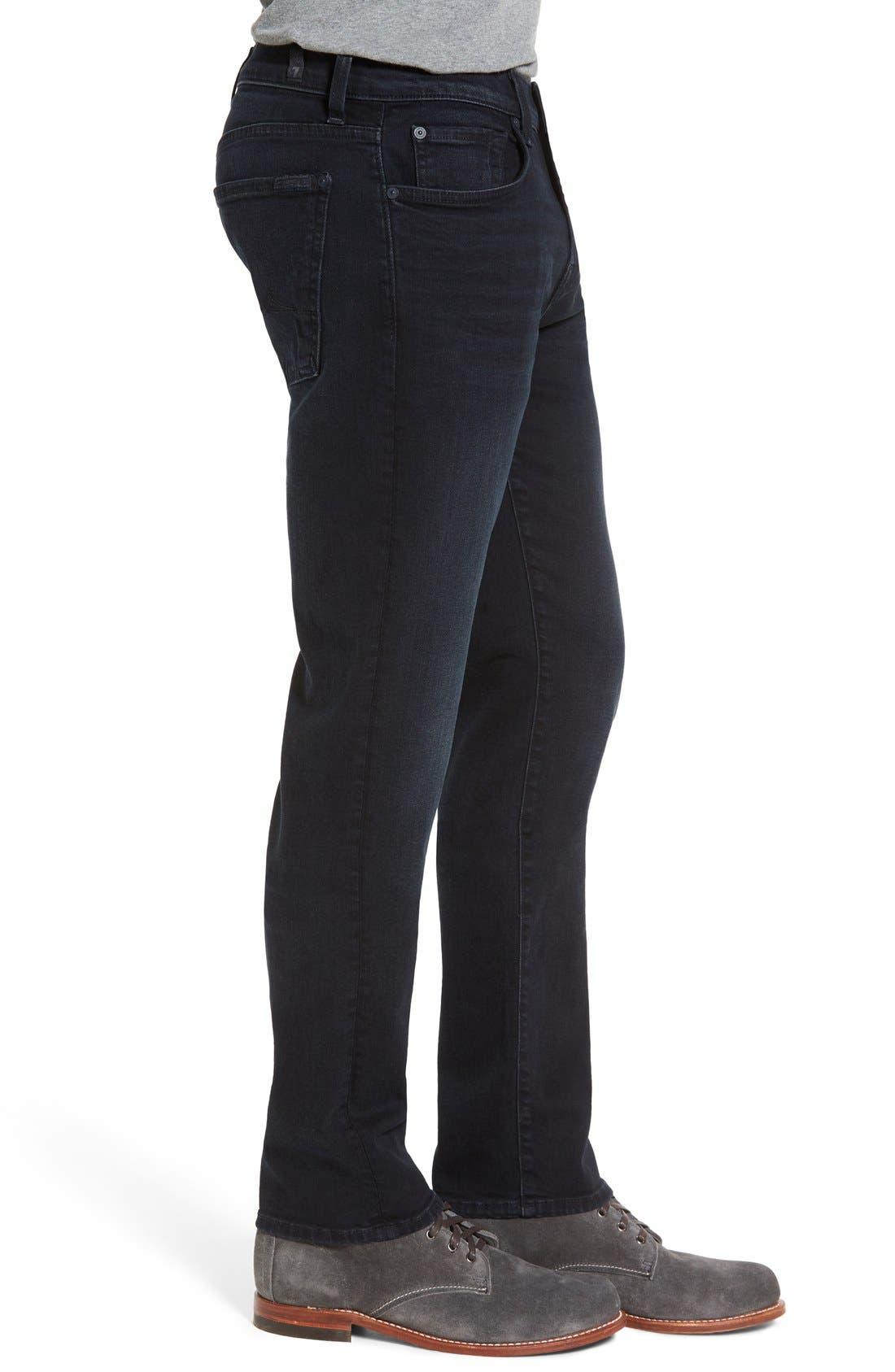 'Slimmy - Luxe Performance' Slim Fit Jeans,                             Alternate thumbnail 3, color,                             Stockholme