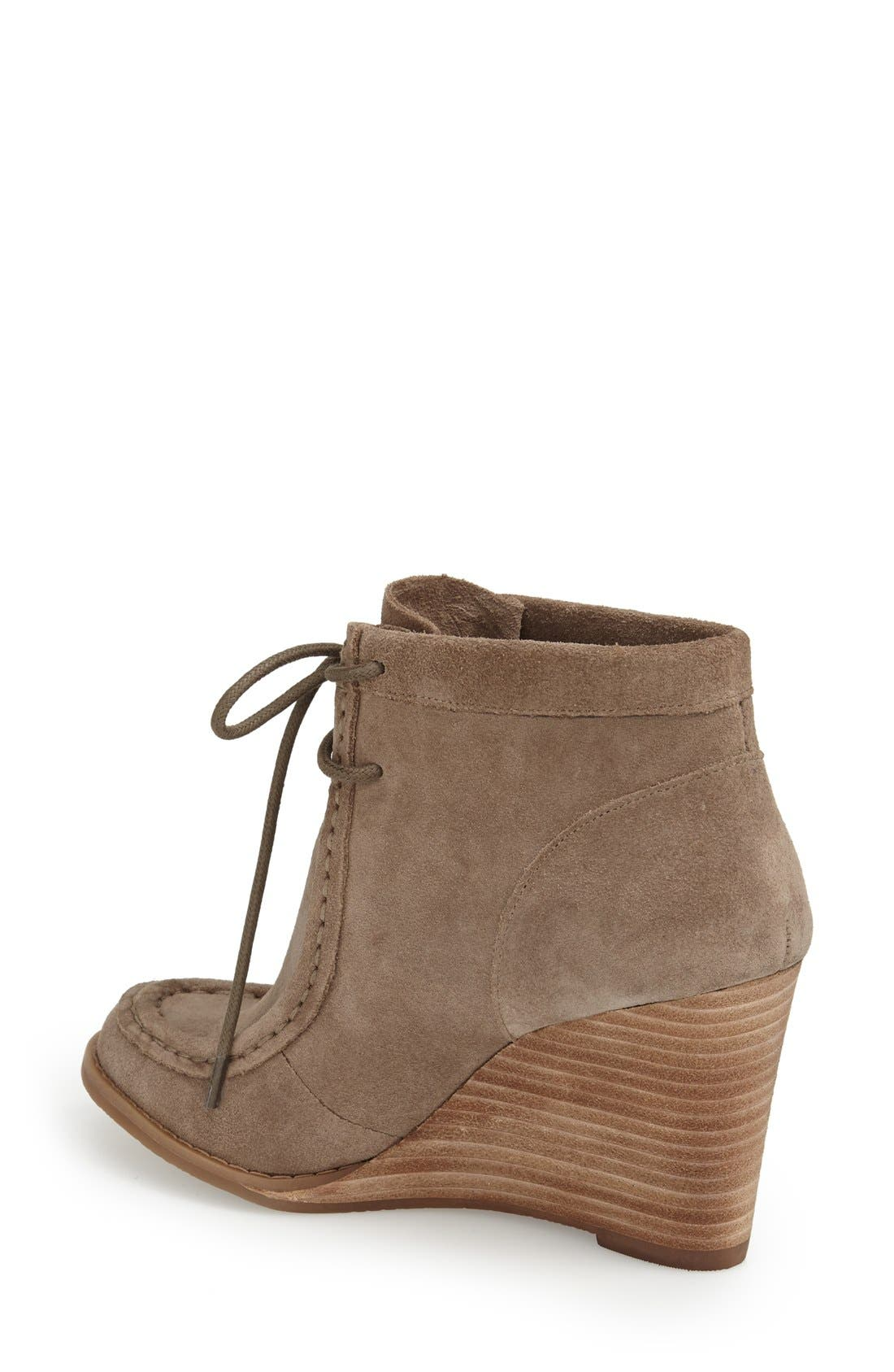 Alternate Image 2  - Lucky Brand 'Ysabel' Wedge Chukka Boot (Women)