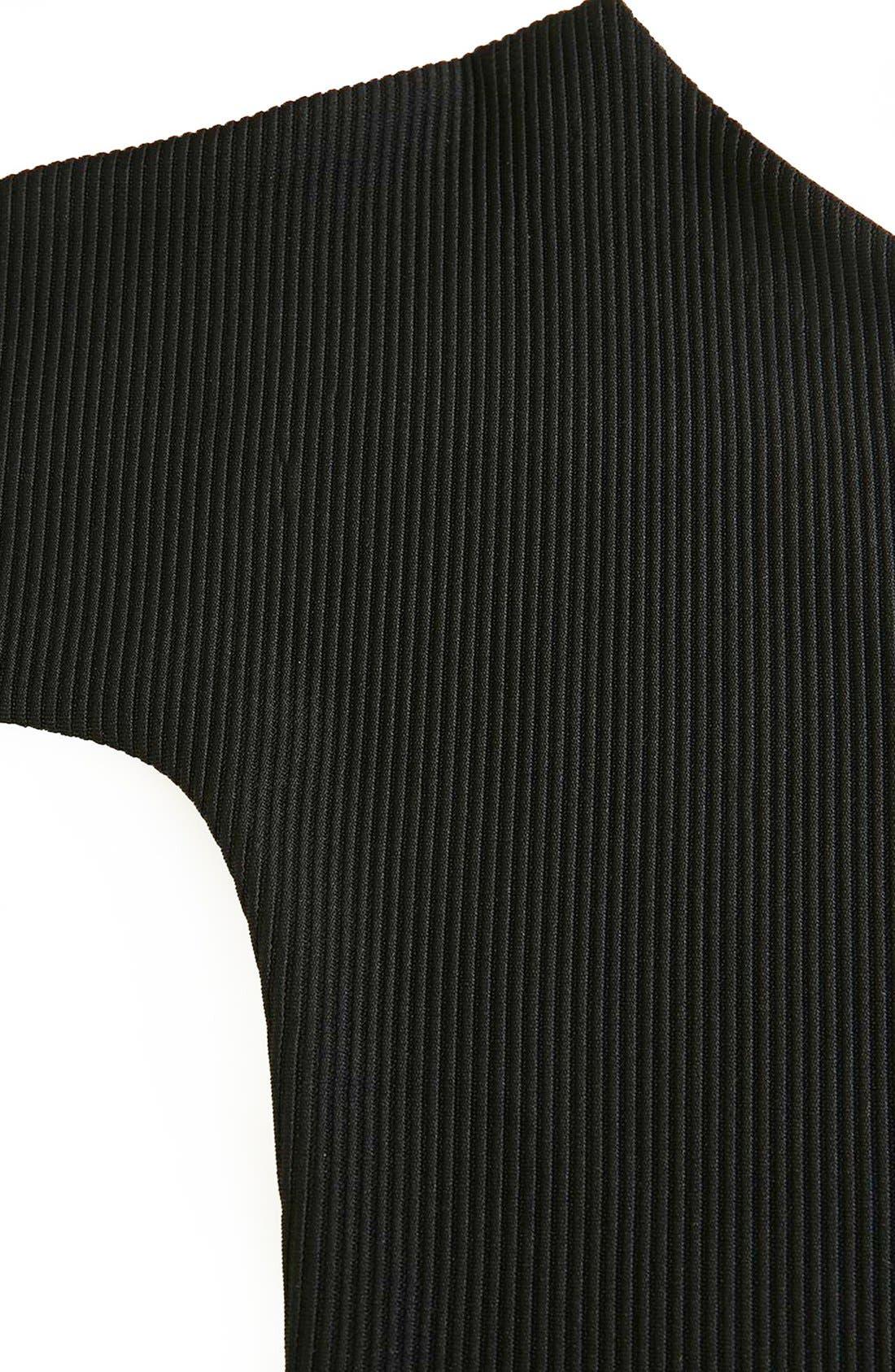 Alternate Image 5  - Topshop Boutique Asymmetrical Bodysuit