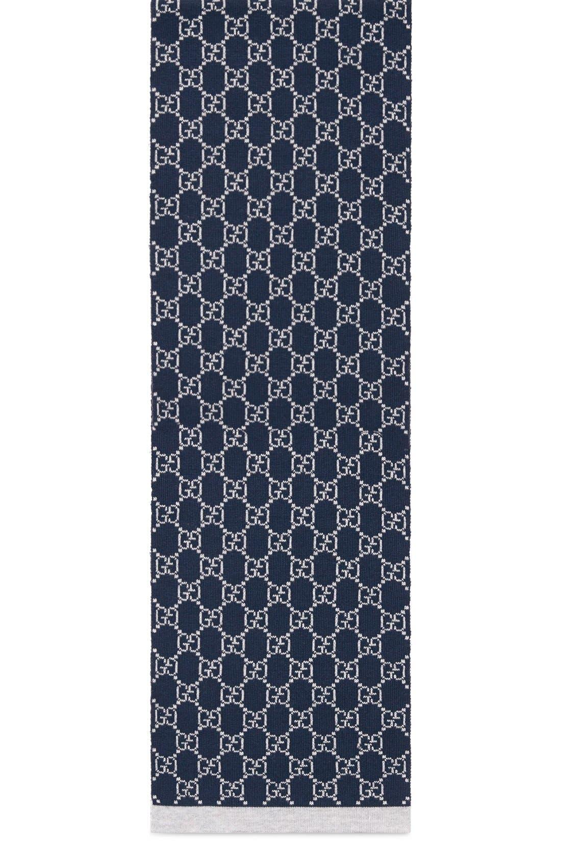 'Junior' Wool Scarf,                         Main,                         color, Multi