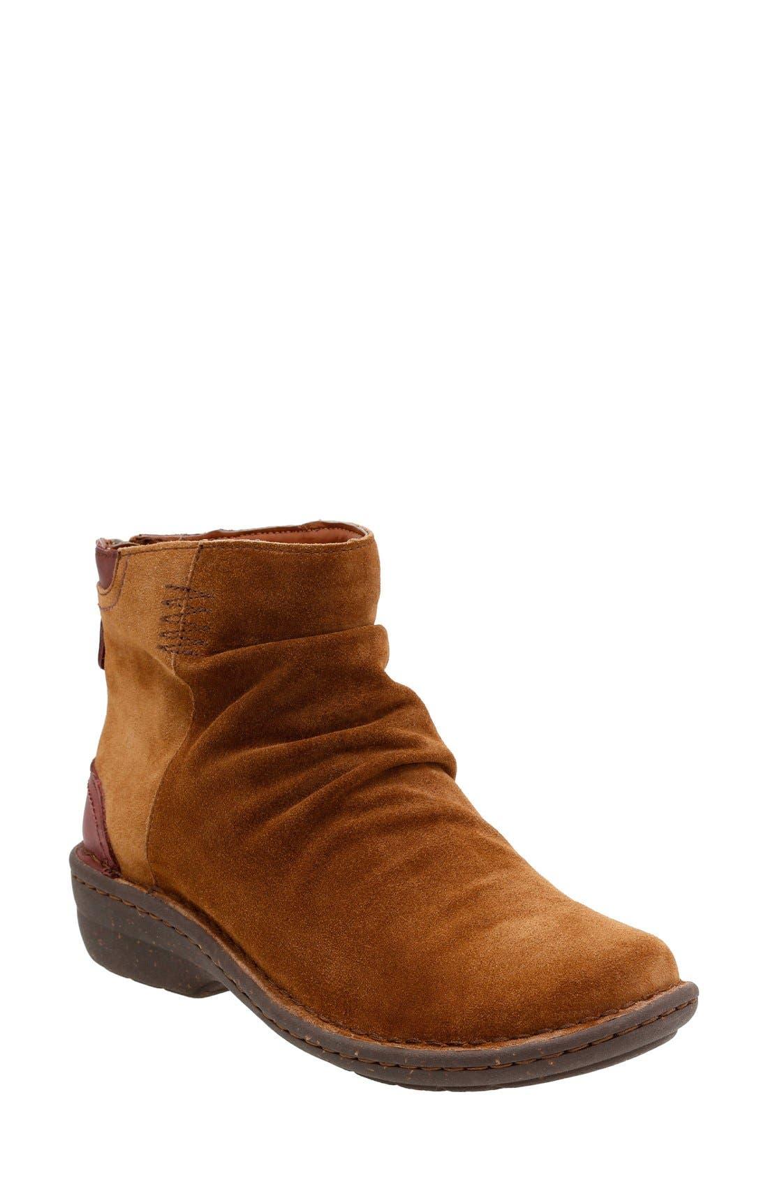 'Avington Swan' Ankle Boot,                         Main,                         color, Tan Suede