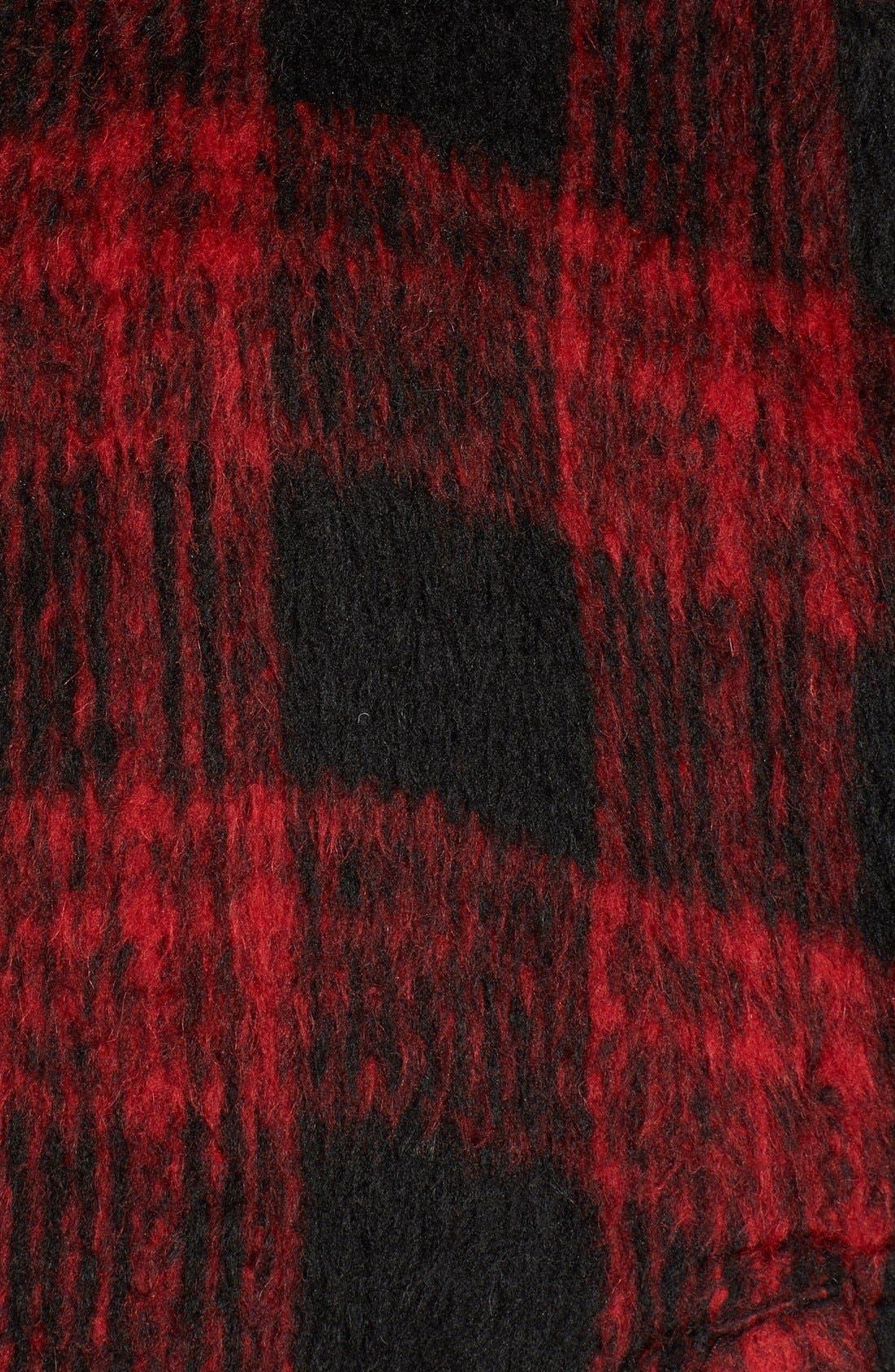 Alternate Image 5  - Steve Madden Hooded Poncho Cardigan