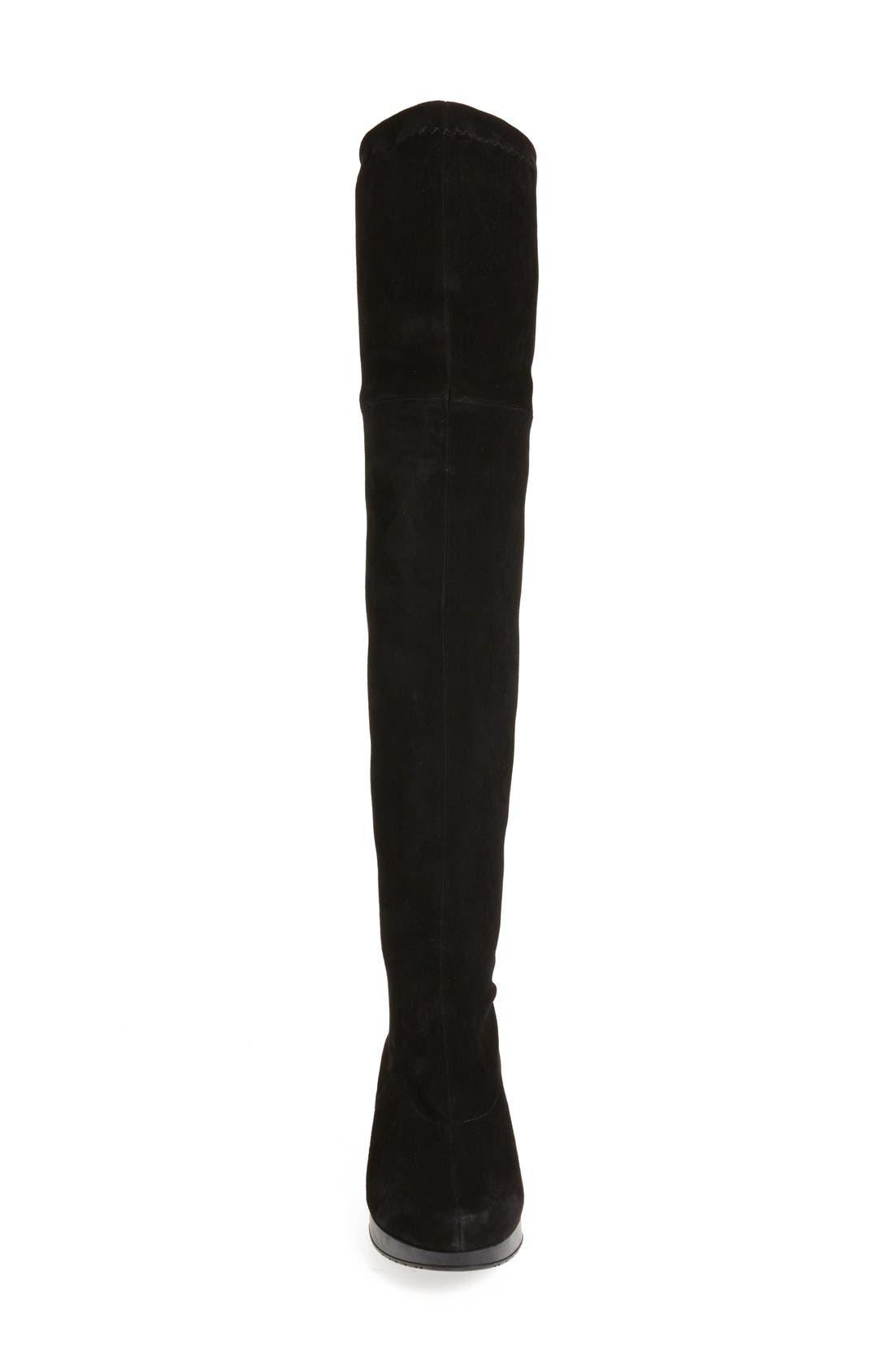 Alternate Image 3  - Robert Clergerie Wedge Over the Knee Boot (Women)