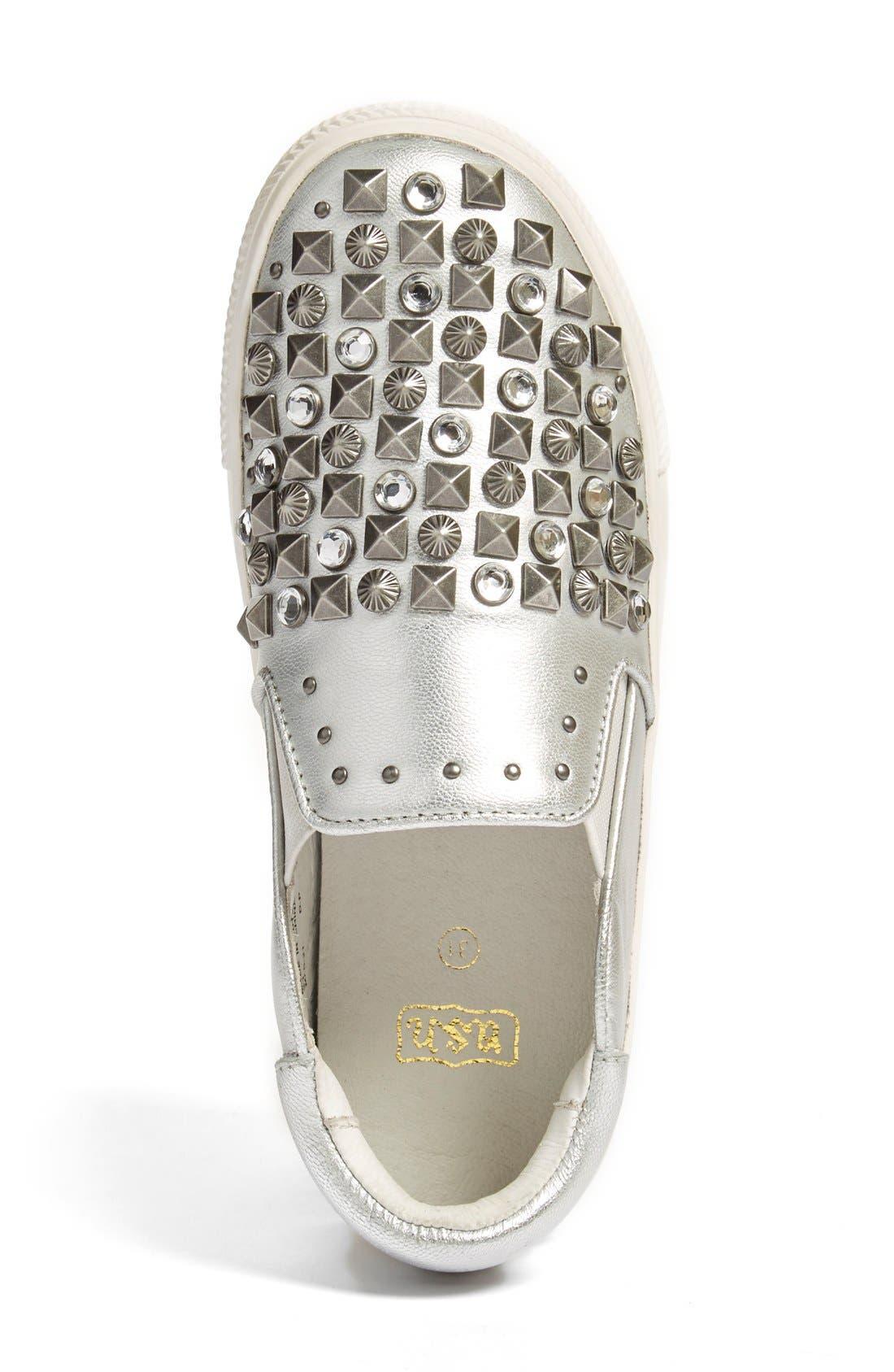 Alternate Image 3  - Ash 'Lynn Clodi' Slip-On Sneaker (Little Kid & Big Kid)
