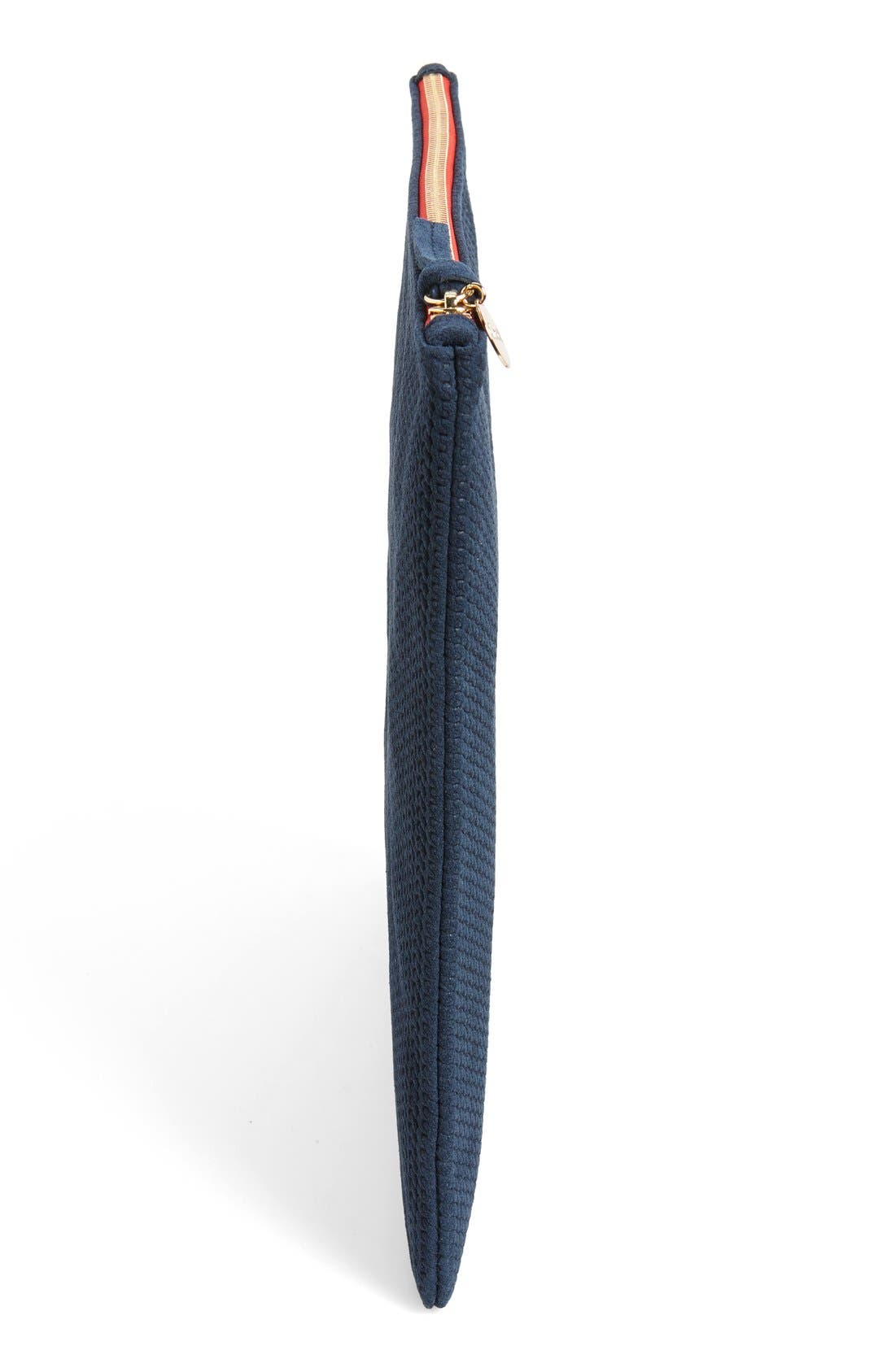 Alternate Image 5  - Clare V. 'Marine Rope' Woven Suede Foldover Clutch