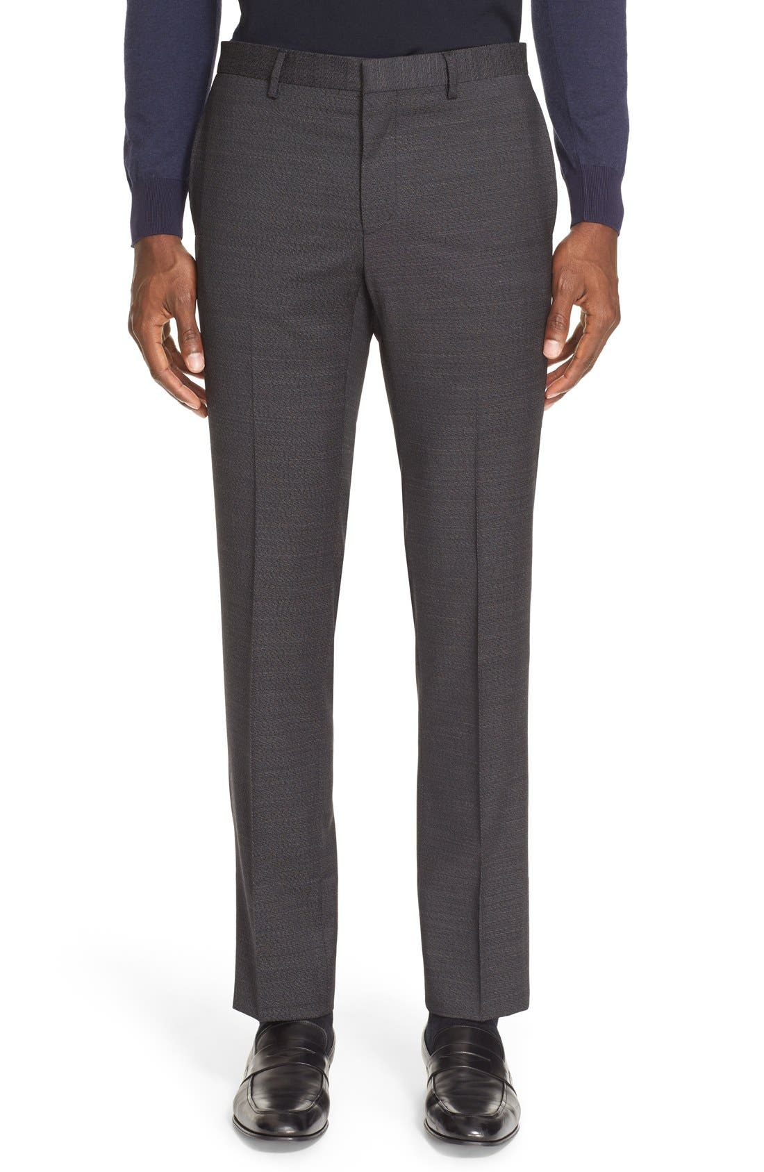 Alternate Image 6  - Givenchy Extra Trim Fit Textured Wool Suit