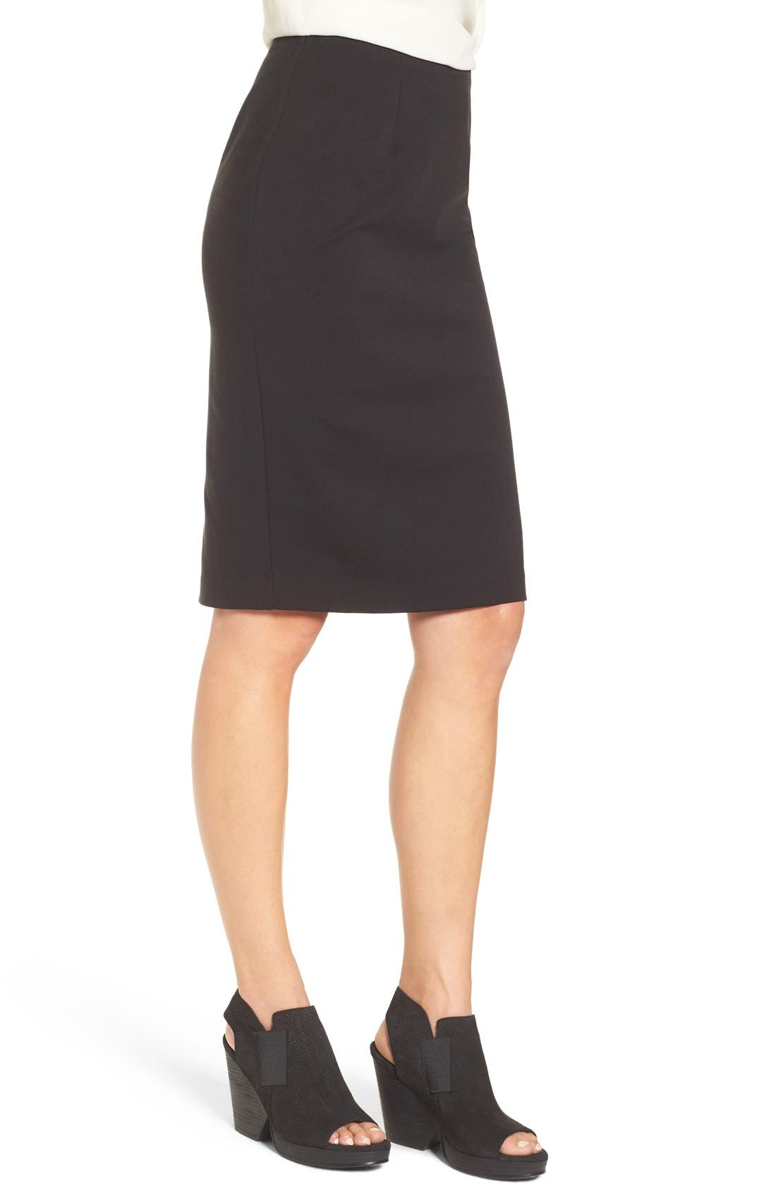 Alternate Image 3  - Eileen Fisher Stretch Ponte Pencil Skirt