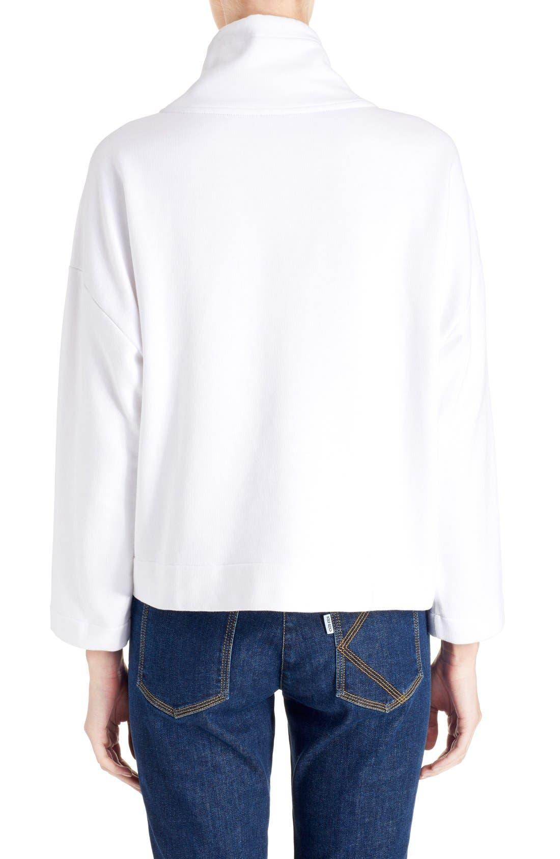 Alternate Image 2  - KENZO Brushed Cotton Molleton Sweatshirt