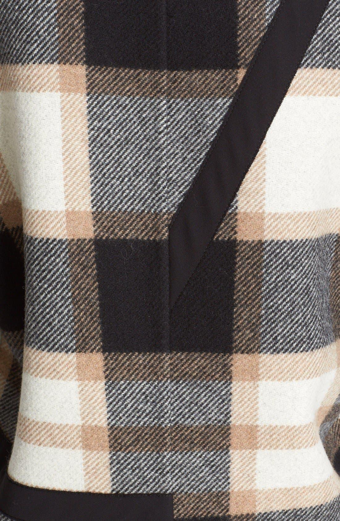 Alternate Image 3  - Burberry Tartan Plaid Wool Coat