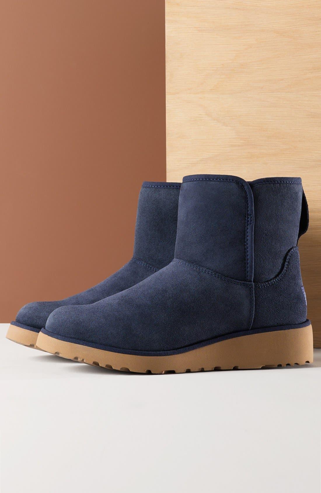 Alternate Image 9  - UGG® Kristin - Classic Slim™ Water Resistant Mini Boot (Women)