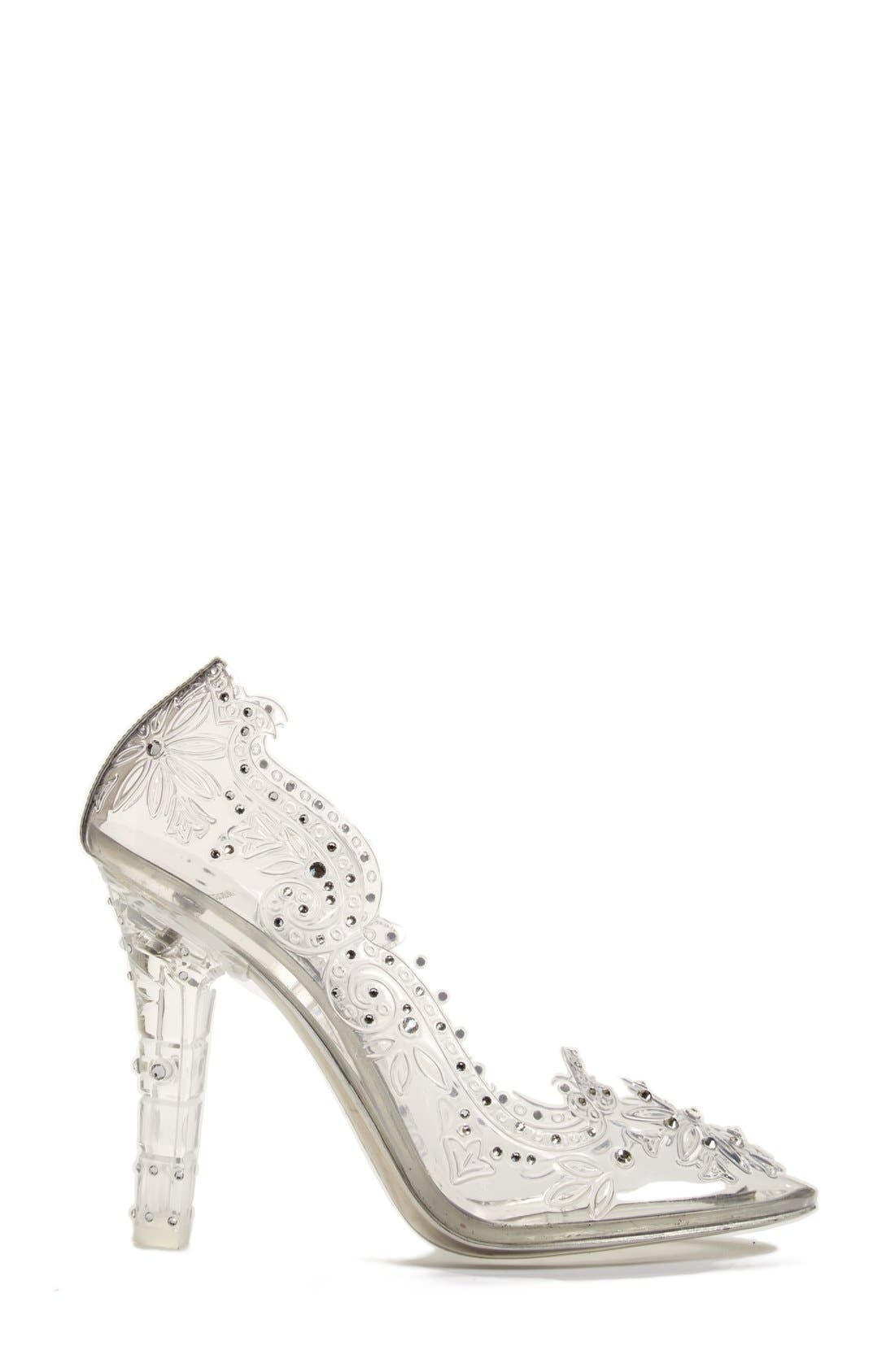 Alternate Image 4  - Dolce&Gabbana 'Glass Slipper' Pump (Women)