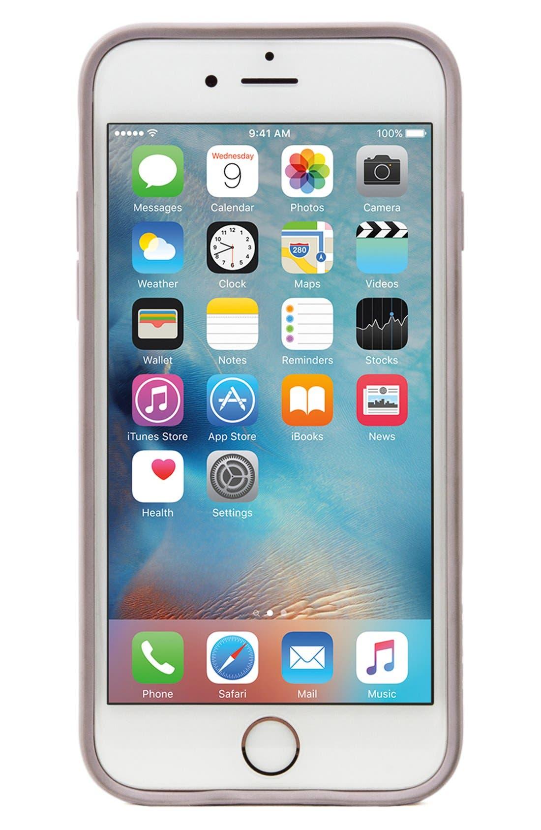 Pop Case iPhone 6 Plus/6s Plus Case,                             Alternate thumbnail 4, color,                             Clear/ Lavender