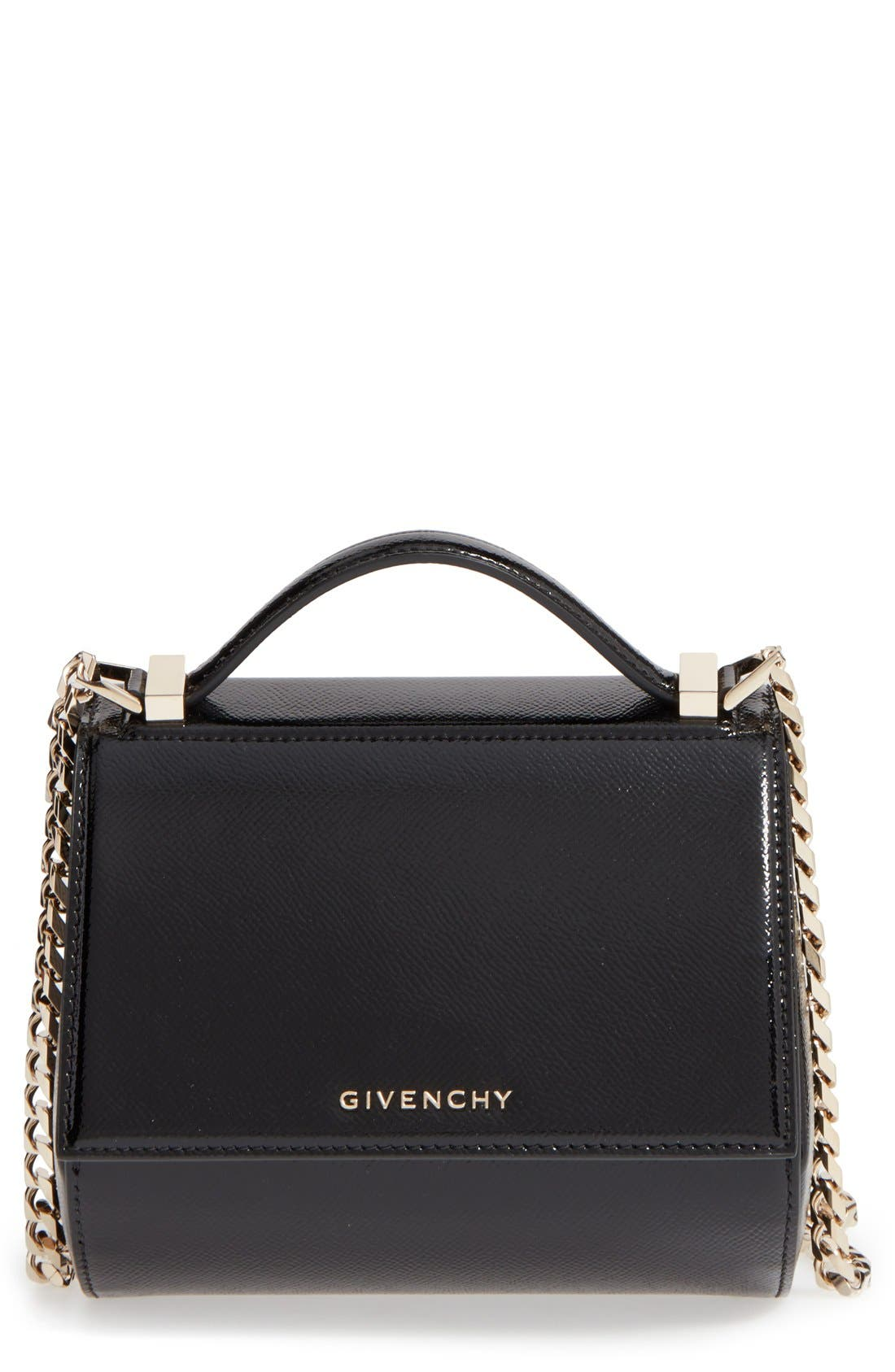 Main Image - Givenchy 'Mini Pandora Box' Leather Shoulder Bag