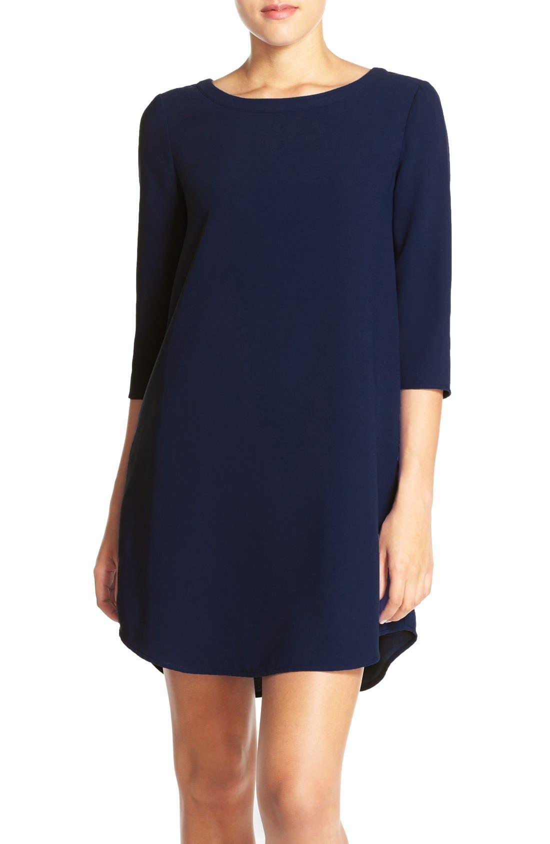 Alternate Image 1 Selected - BB Dakota 'Jazlyn' Crepe Shift Dress