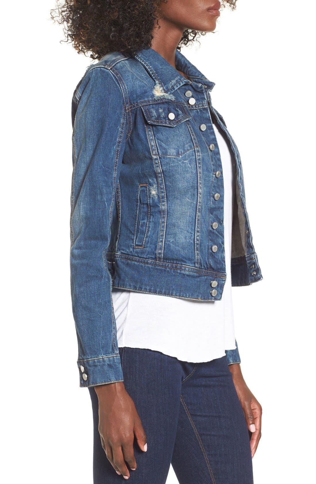 Alternate Image 3  - BLANKNYC 'Toe Jam' Denim Jacket