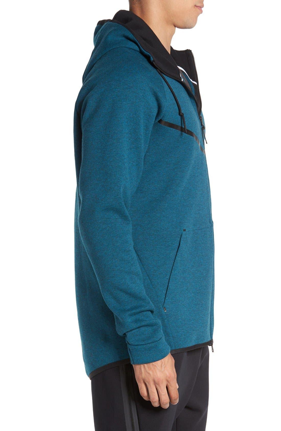 Alternate Image 3  - Nike 'Windrunner' Tech Fleece Hoodie
