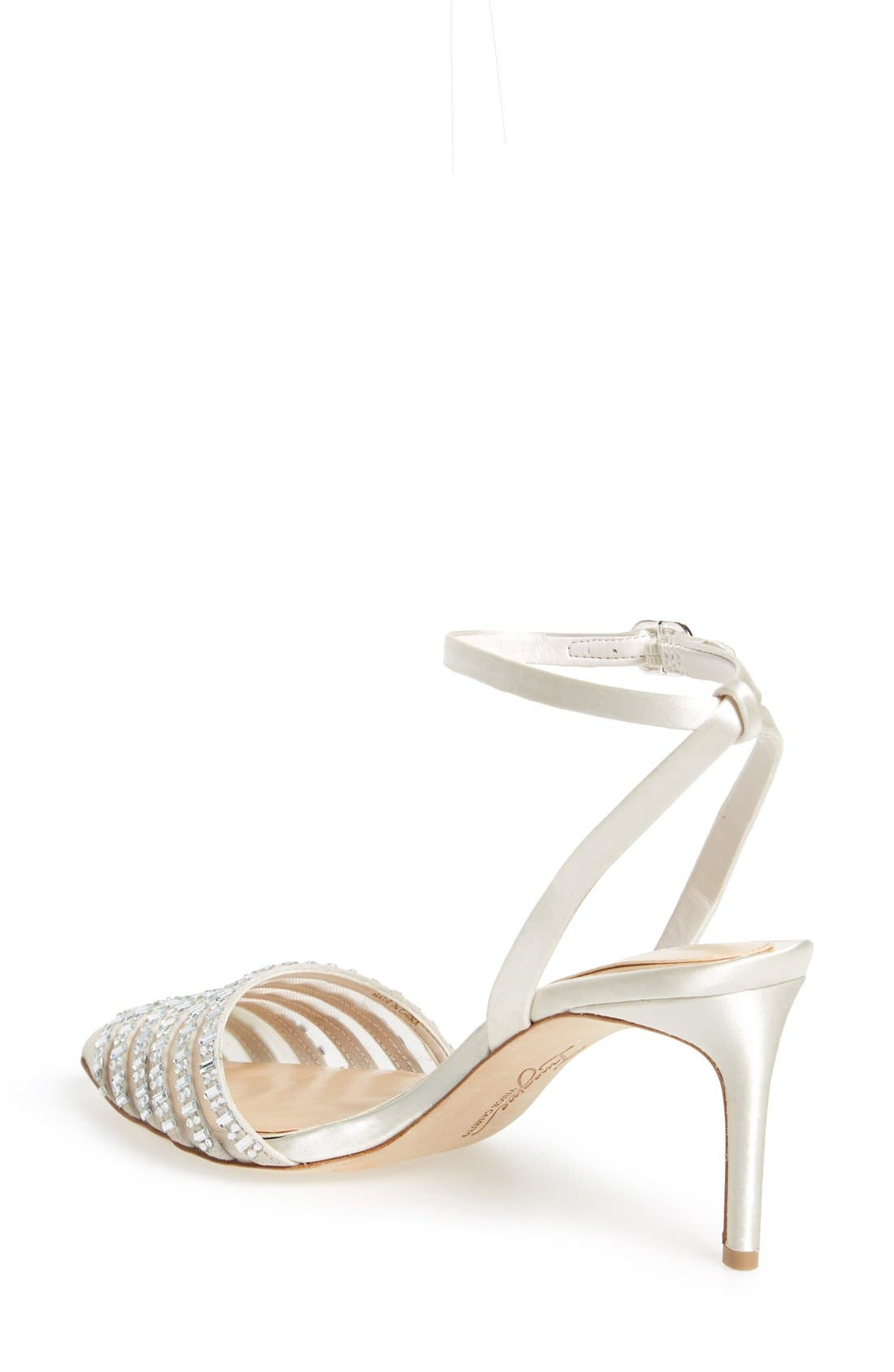 'Michael' Sandal,                             Alternate thumbnail 2, color,                             Ivory Satin