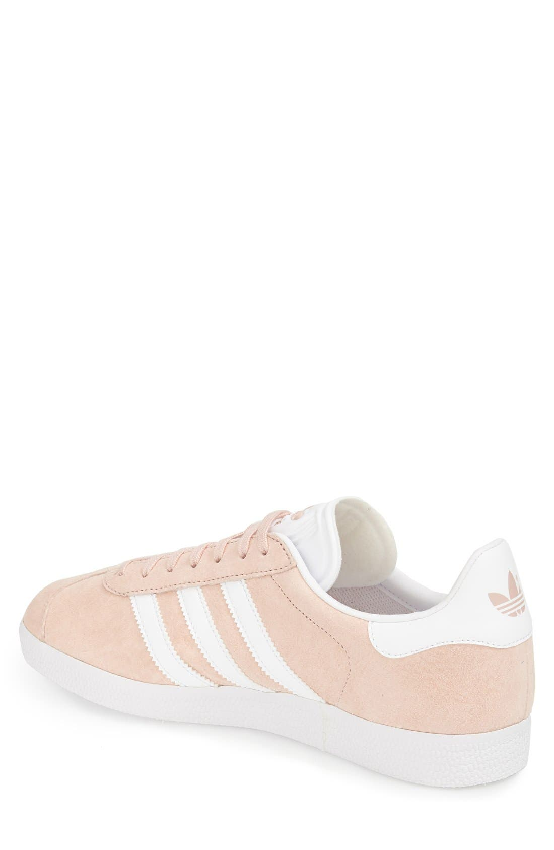 Gazelle Sneaker,                             Alternate thumbnail 2, color,                             Vapor Pink