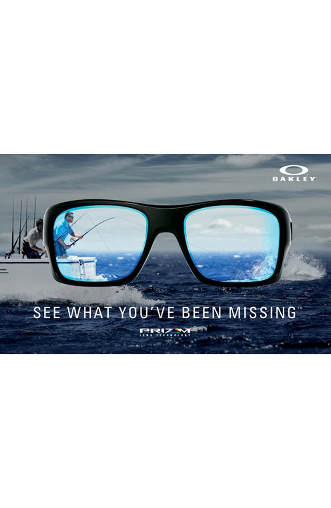 Alternate Image 2  - Oakley 57mm Polarized Sunglasses