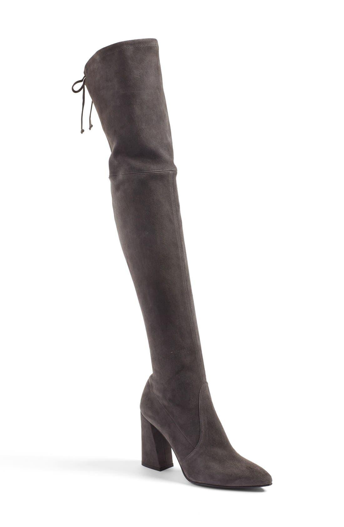 Alternate Image 1 Selected - Stuart Weitzman Highstreet Over The Knee Boot (Women)