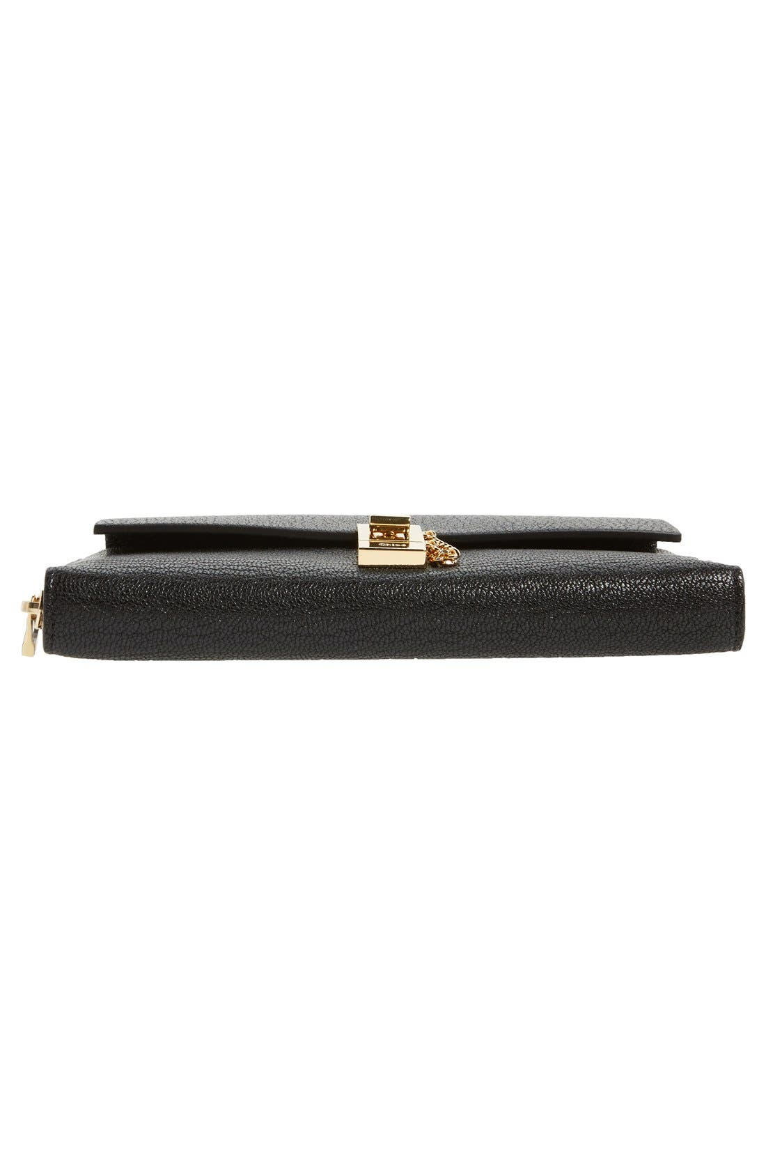 Alternate Image 6  - Chloé 'Drew' Calfskin Leather Zip Around Wallet