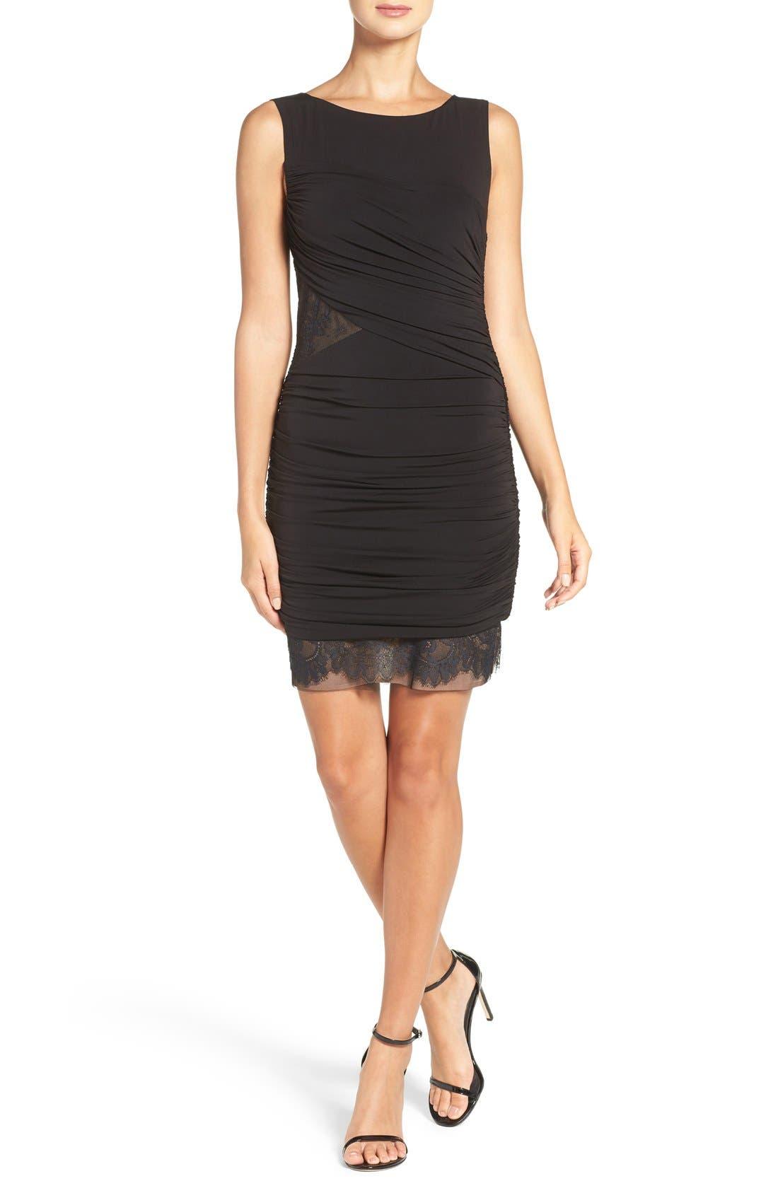 Alternate Image 4  - BCBGMAXAZRIA 'Clio' Ruched Jersey Body-Con Dress