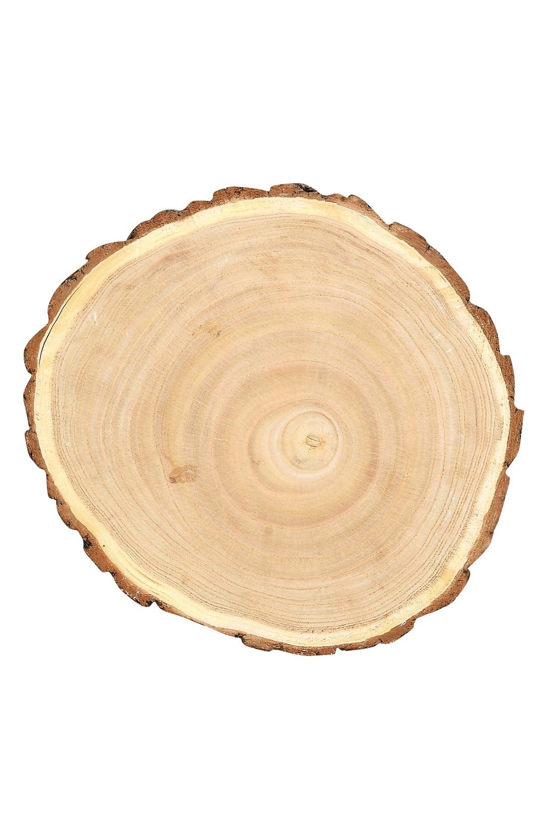 Alternate Image 2  - Creative Co-Op Round Wood Slice