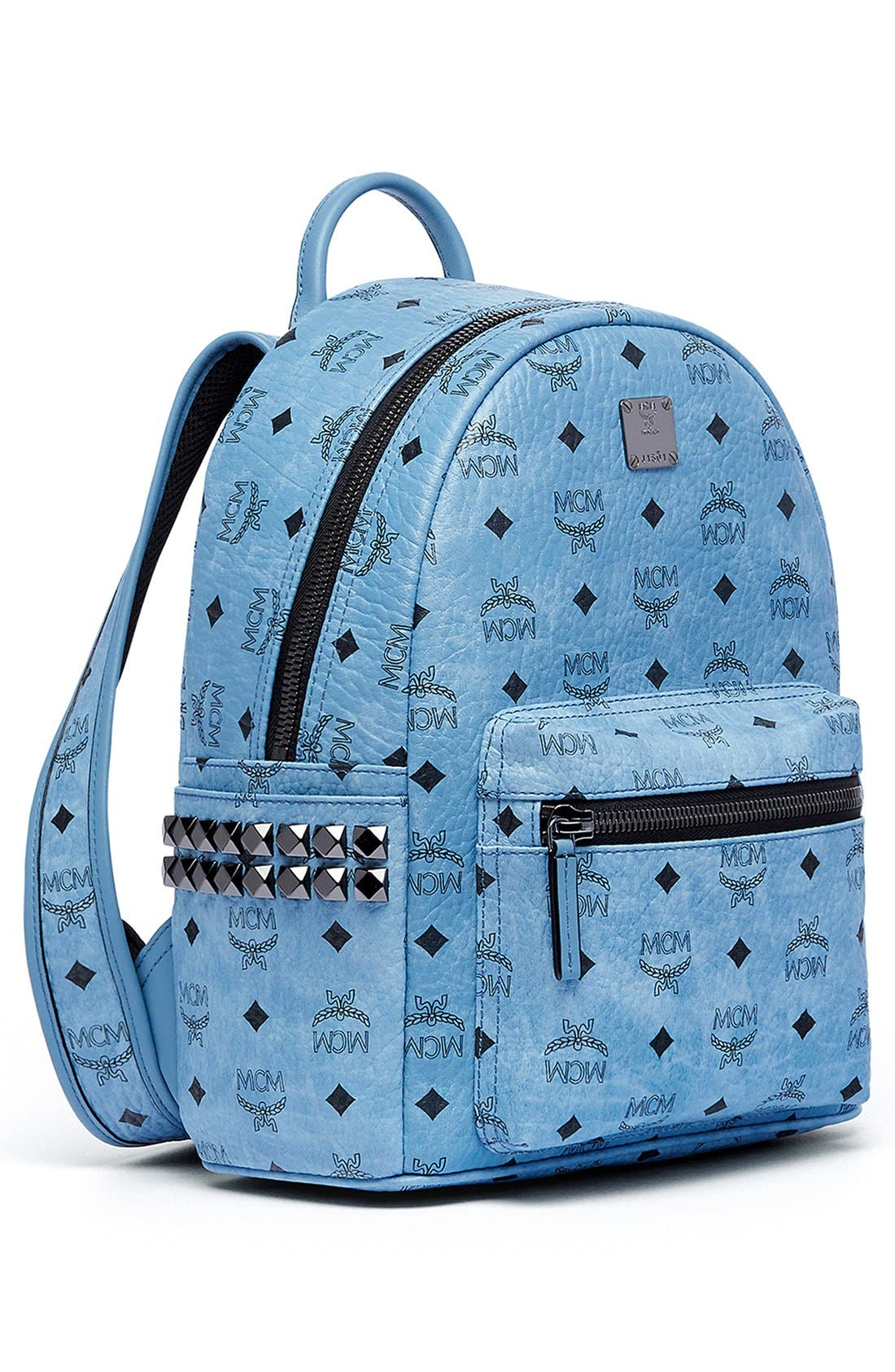 Alternate Image 6  - MCM 'Small Stark' Side Stud Backpack