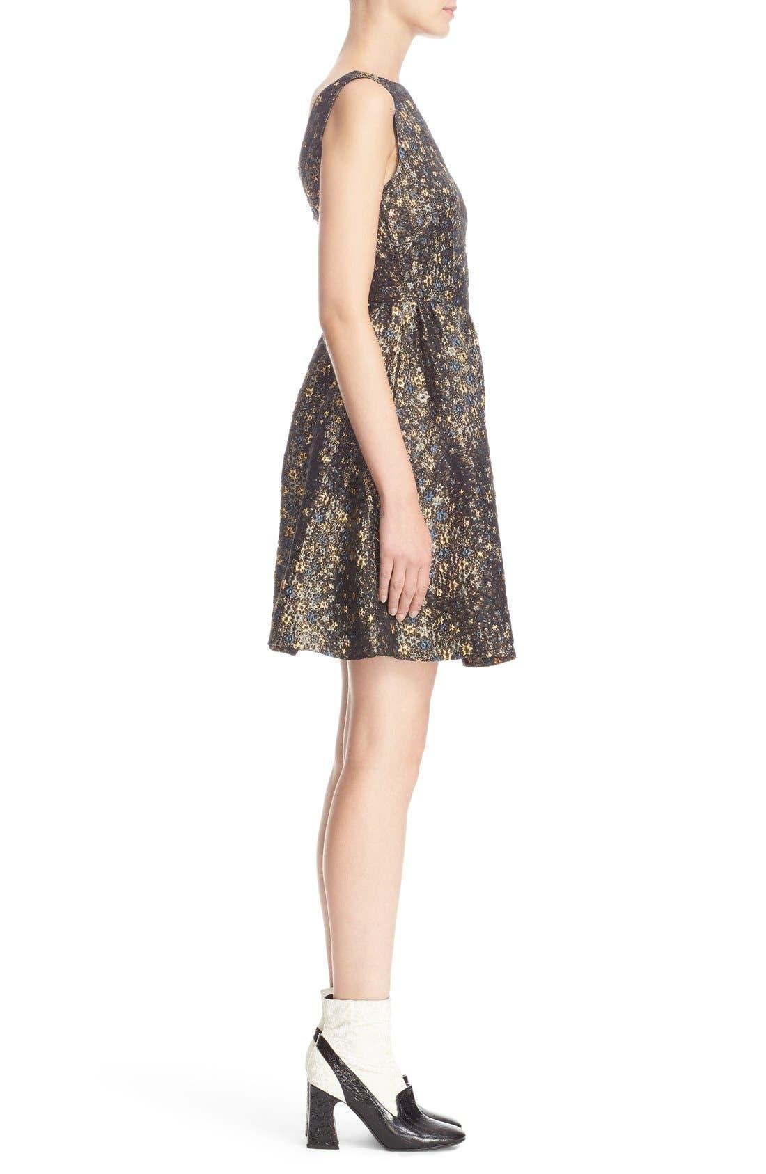 Alternate Image 5  - Erdem Star Jacquard Fit & Flare Dress