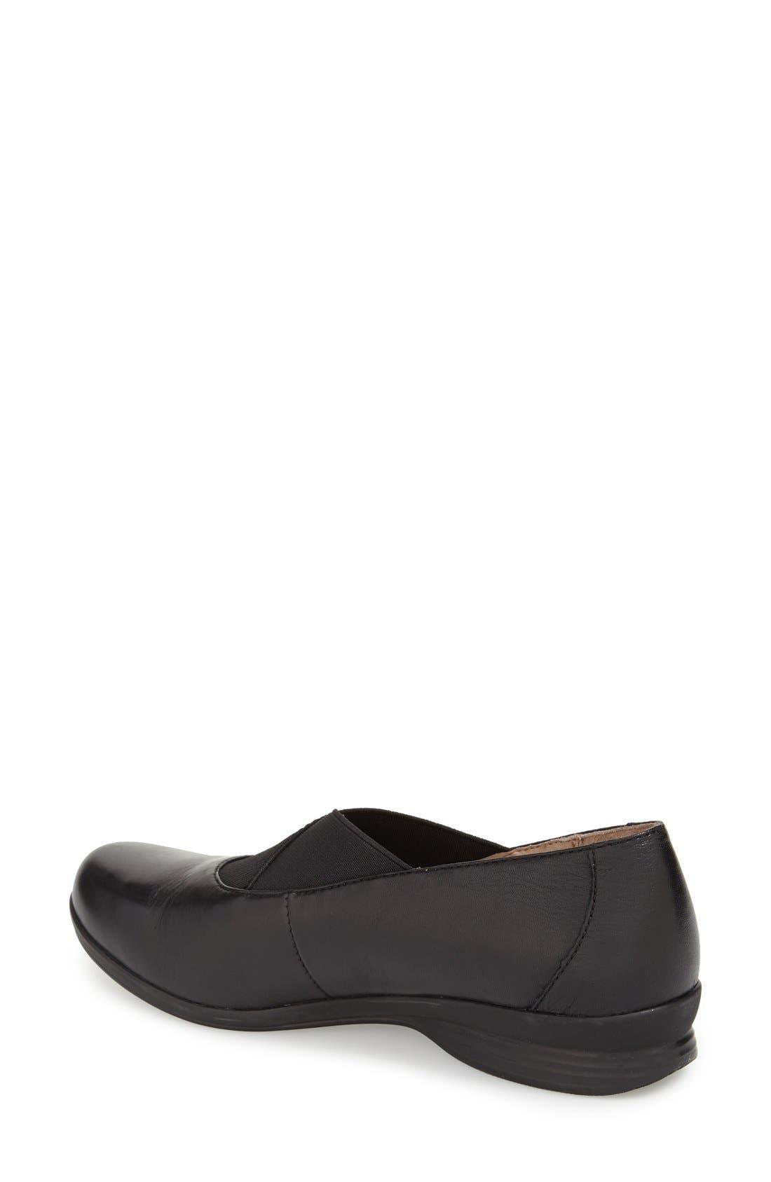 Alternate Image 2  - Dansko 'Ann' Round Toe Flat (Women)