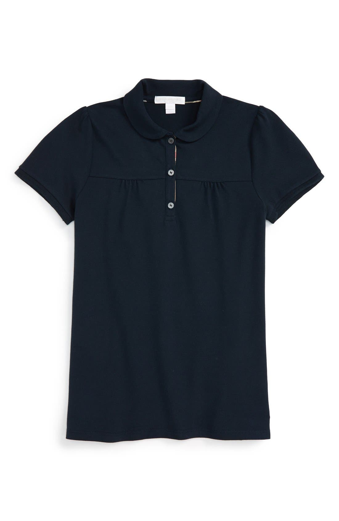 Burberry 'Karley' Polo (Little Girls & Big Girls)