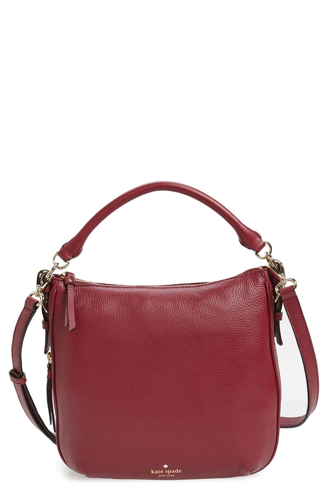 Alternate Image 1 Selected - kate spade new york 'cobble hill - small ella' leather satchel