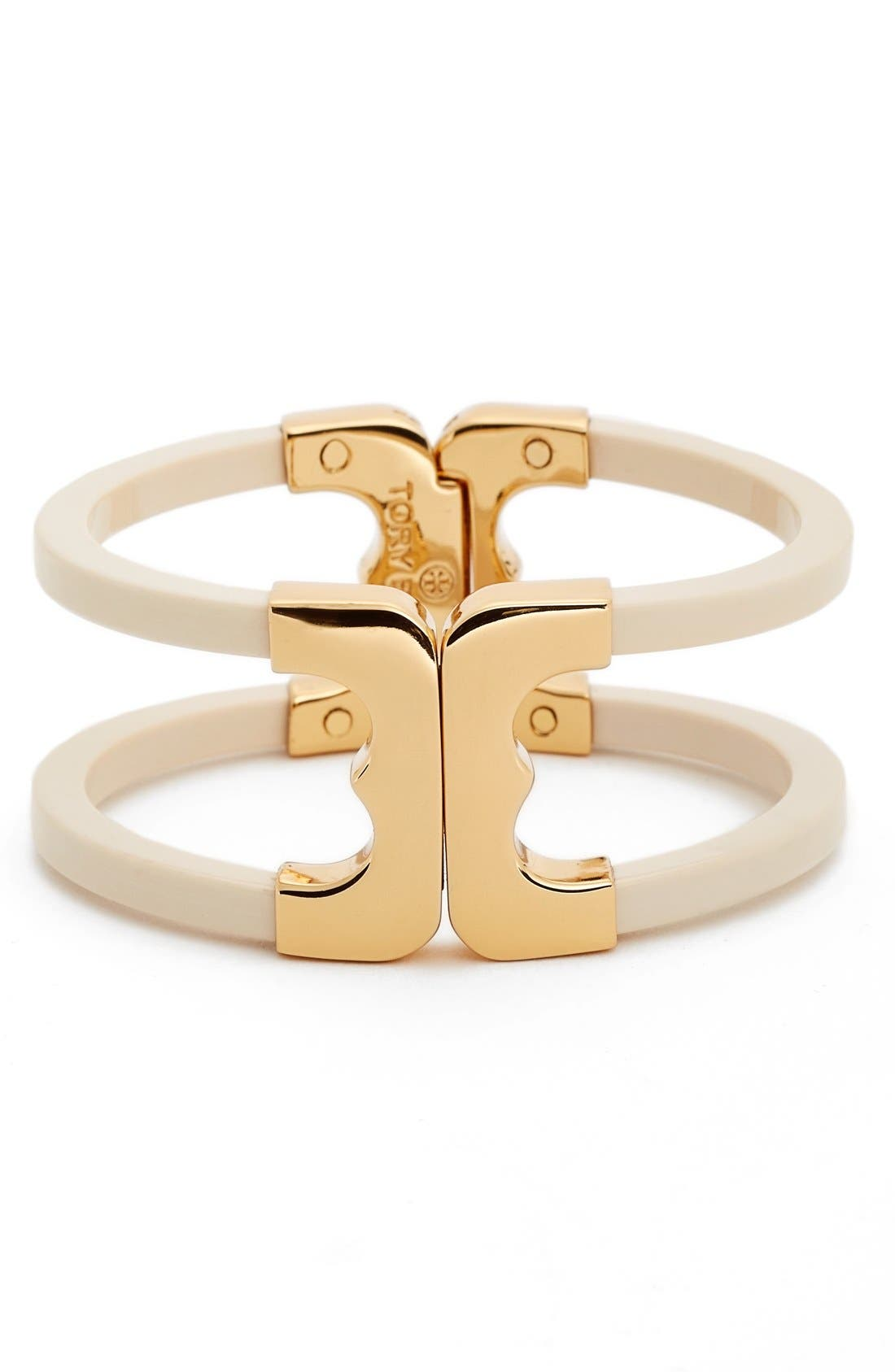 'Gemini' Openwork Bracelet,                         Main,                         color, Ivory/ Gold