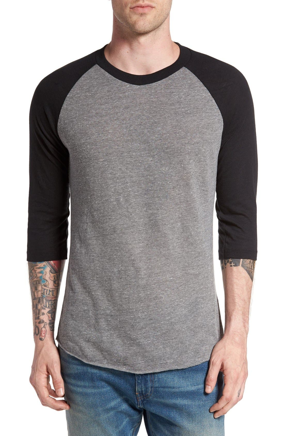 Main Image - Alternative Colorblock Baseball T-Shirt