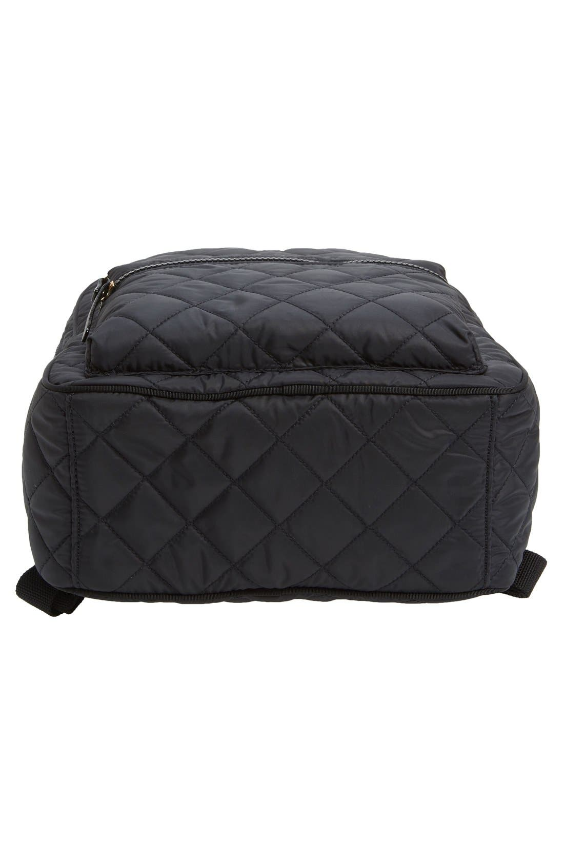 Alternate Image 5  - kate spade new york 'ridge street siggy' quilted backpack