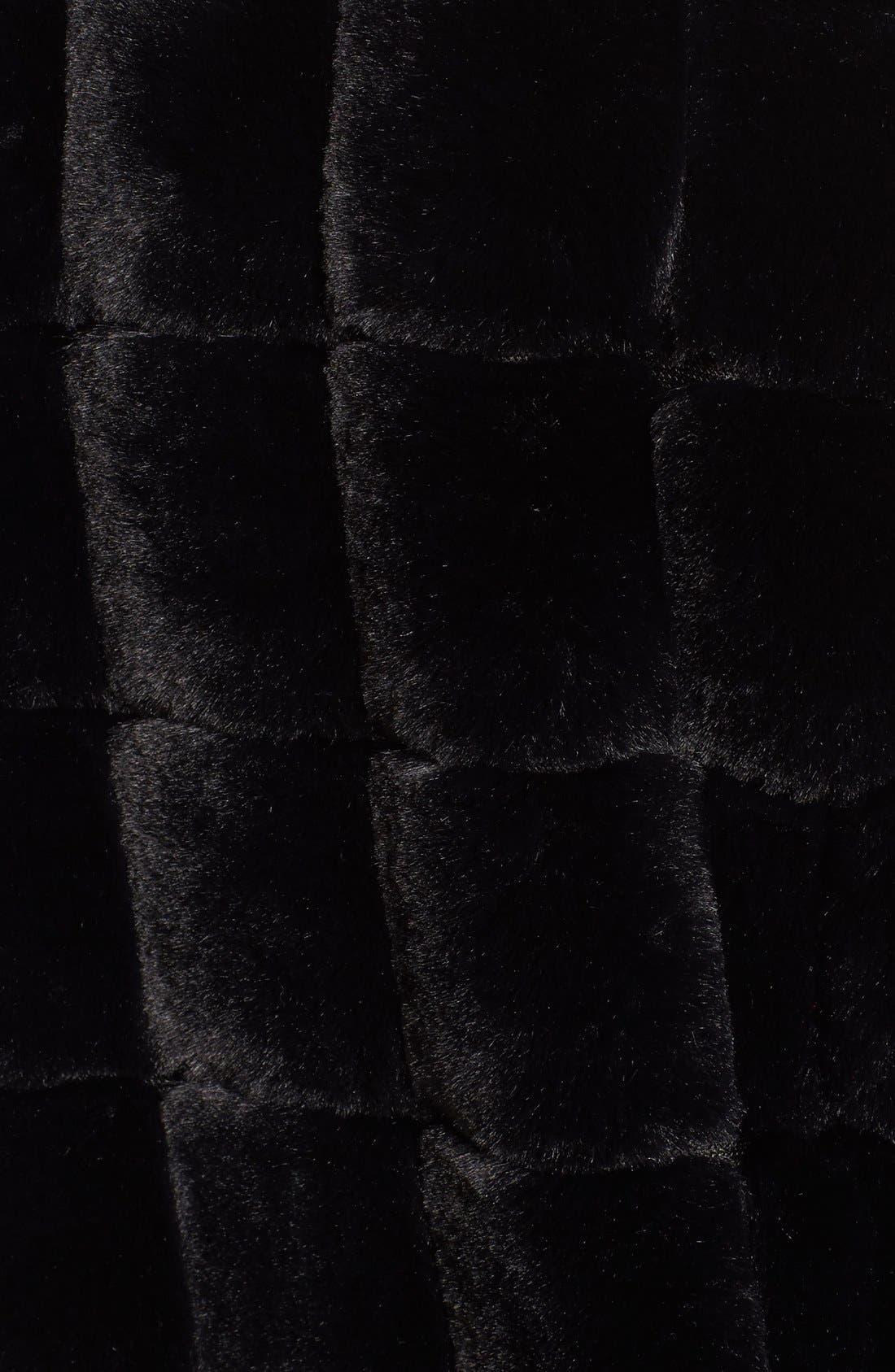 Alternate Image 5  - Kristen Blake Faux Fur Jacket